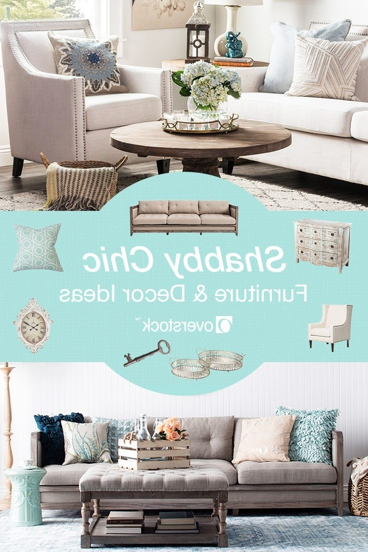 Well Liked Beautiful Shabby Chic Furniture & Decor Ideas Overstock For Shabby Chic Sofas (View 12 of 15)