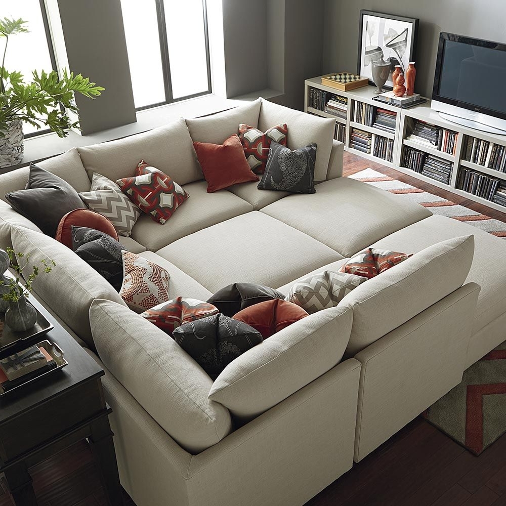 Well Liked Beckham Pit Sectional (View 14 of 15)