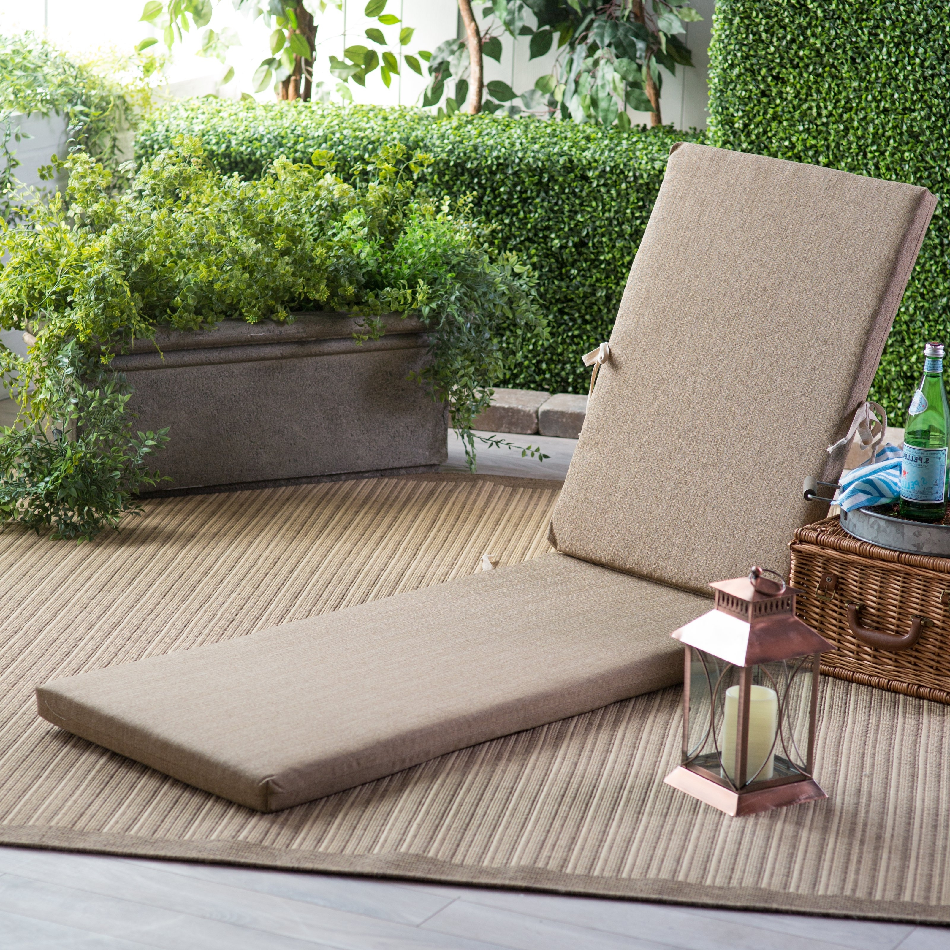 Well Liked Chaise Cushions Within Polywood® Sunbrella 78 X 20.5 In (View 6 of 15)