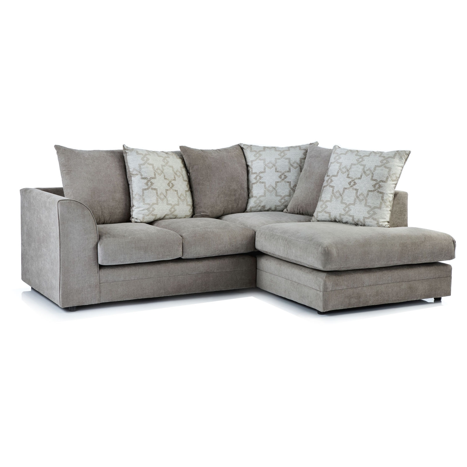 Well Liked Chaise Sofas With Washington Fabric Corner Chaise Sofa – Next Day Delivery (View 5 of 15)