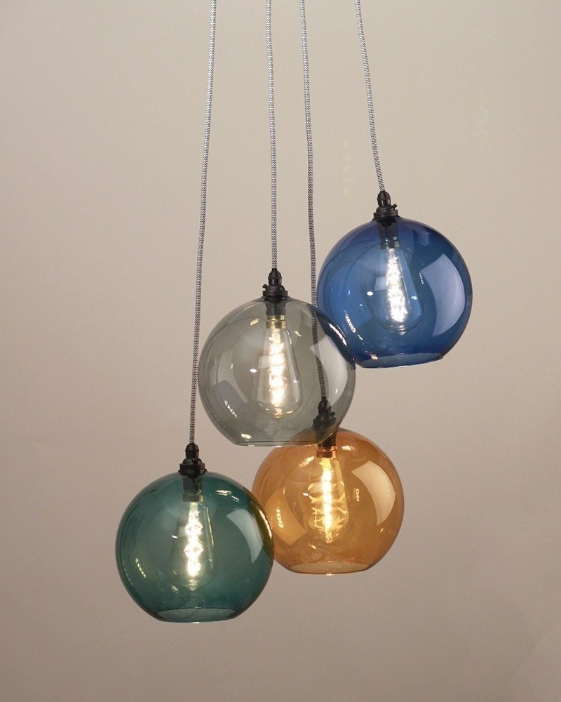 Well Liked Coloured Glass Chandelier With Regard To Pendant Lights, Chandelier Lighting, Hereford Mixed Coloured Glass (View 6 of 15)