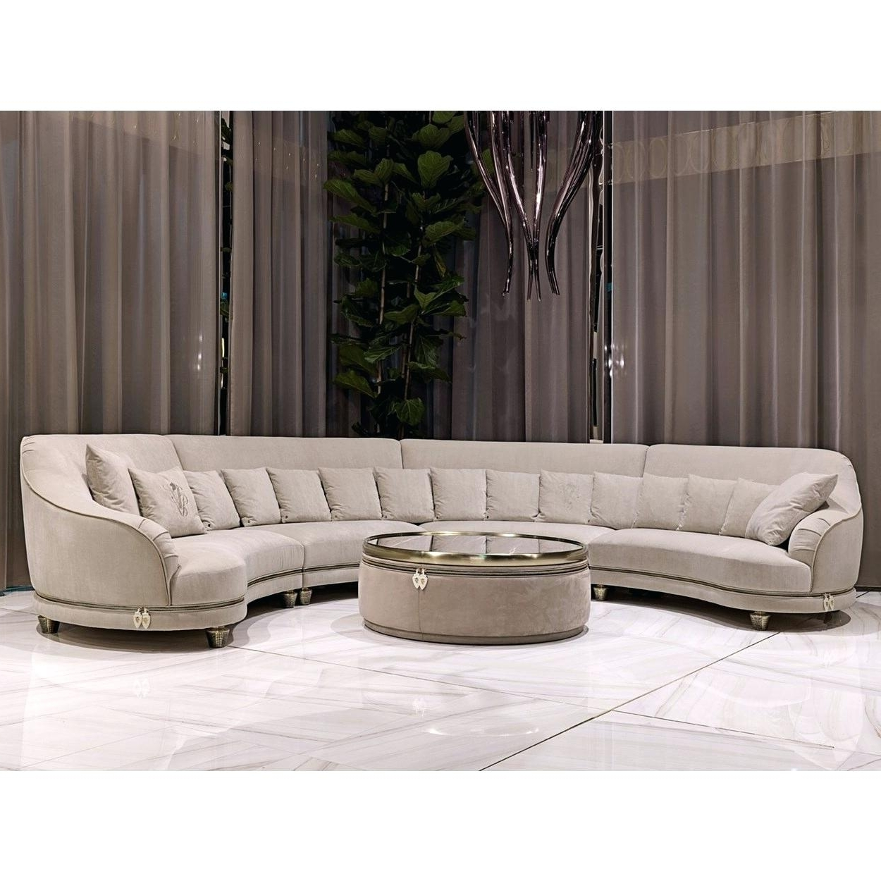 Well Liked Curve Sofa Curved Sectional Bed Recliner Couches – Lilwayne With Regard To Curved Recliner Sofas (View 14 of 15)