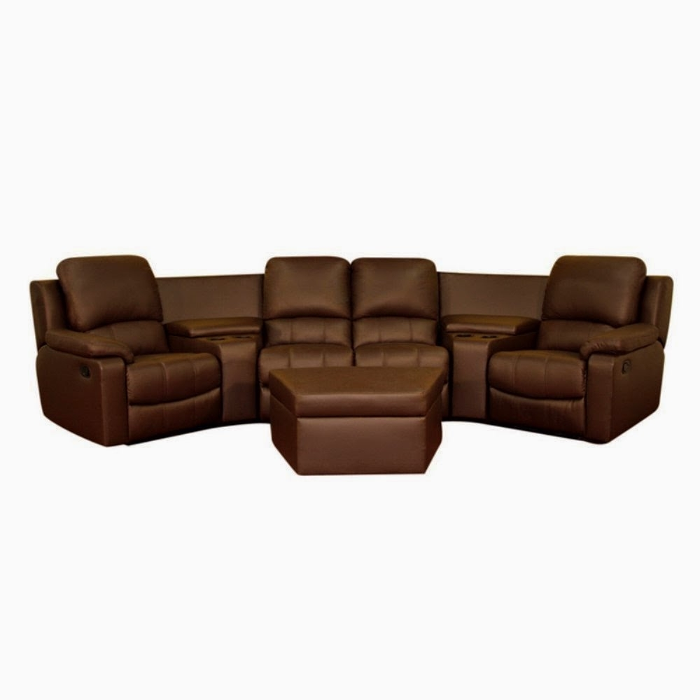 Well Liked Curved Recliner Sofas Intended For Cheap Reclining Loveseat Sale : Curved Leather Reclining Sofa And (View 15 of 15)