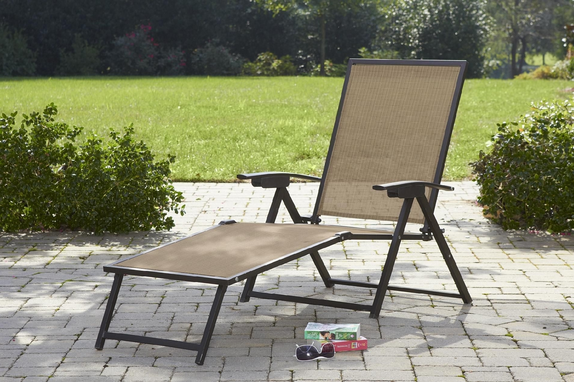 Well Liked Folding Chaise Lounge Lawn Chairs With Folding Lawn Chair Lounger • Lounge Chairs Ideas (View 1 of 15)