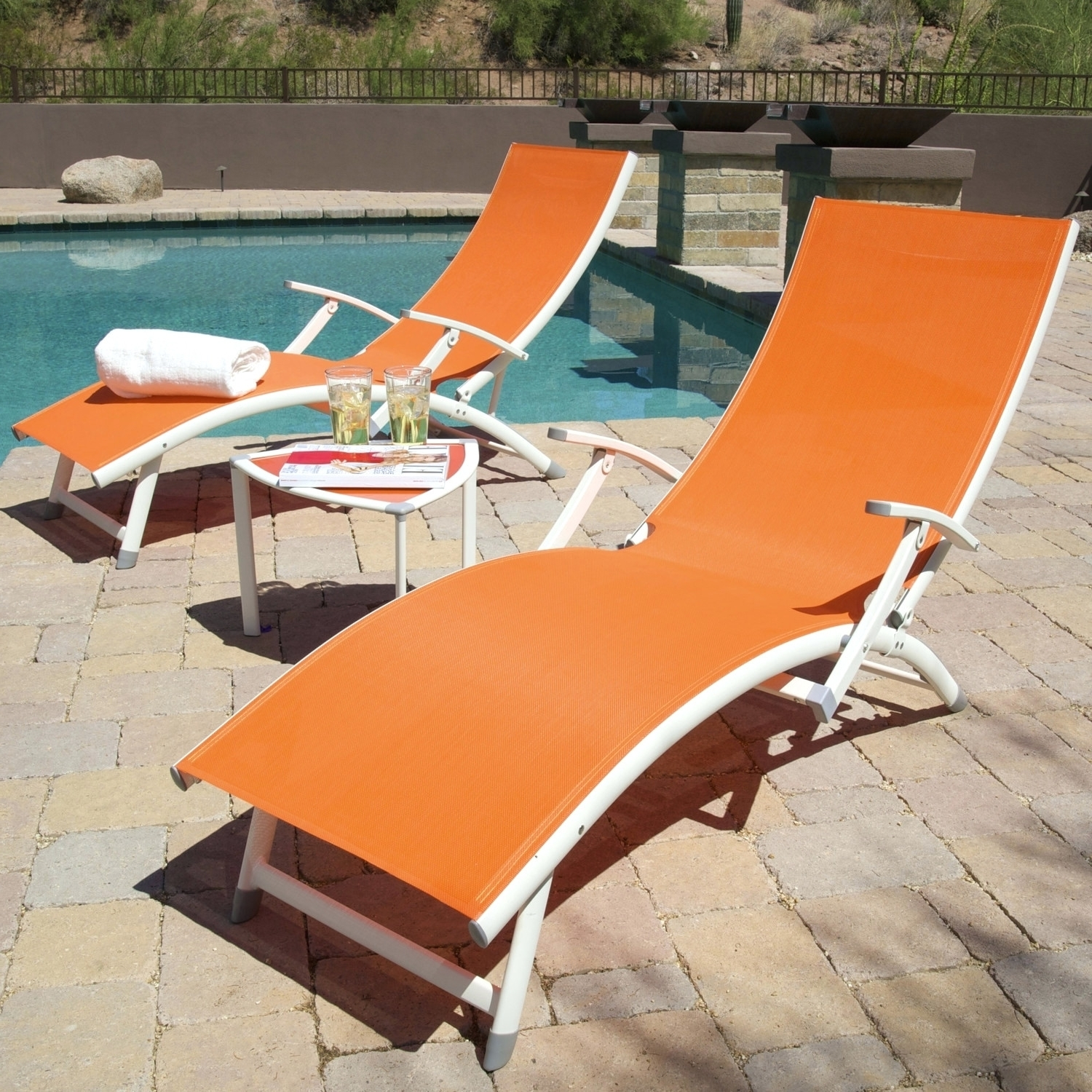 Well Liked Image Of Modern Folding Chaise Lounge Chair Pvc Outdoor Chaise Pertaining To Folding Chaises (View 13 of 15)