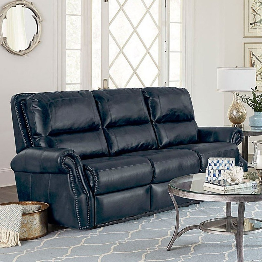 Well Liked Kingston Reclining Living Room Set (Navy) Standard Furniture Intended For Kingston Sectional Sofas (View 15 of 15)
