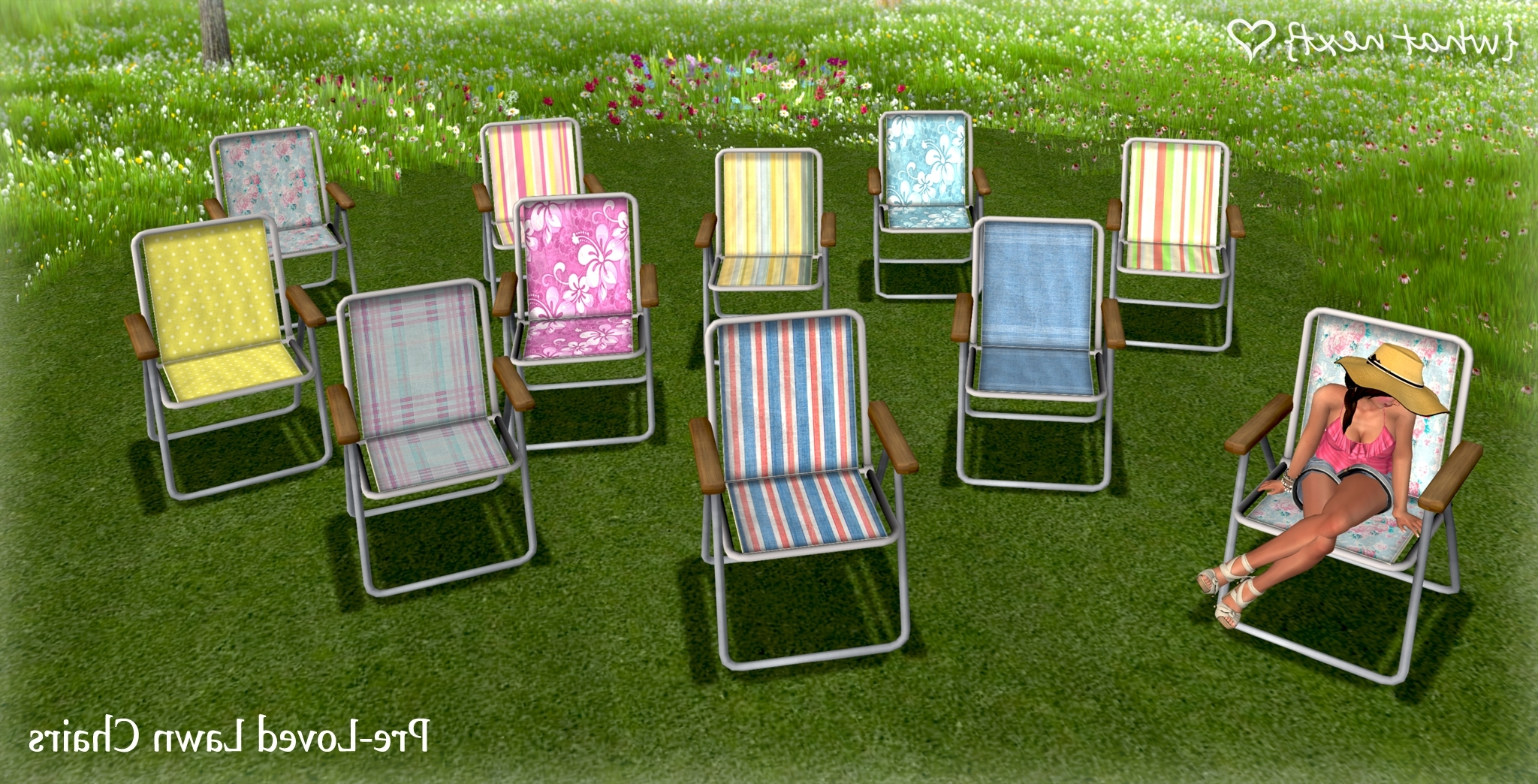 Well Liked Lawn Chaises In Pre Loved Lawn Chairs For Super Bargain Saturday – What Next (View 14 of 15)