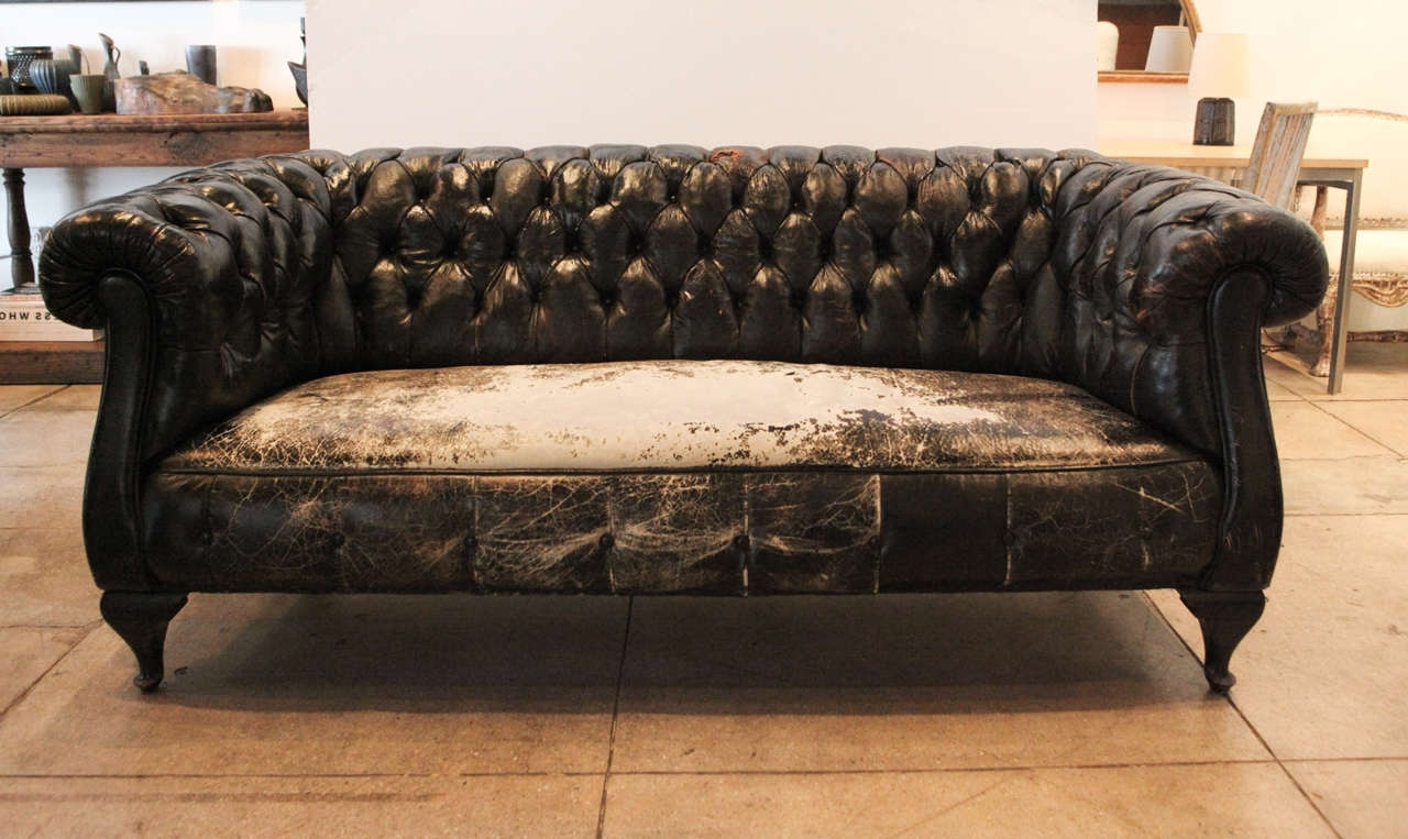 Well Liked Leather Chesterfield Sofa Ideas — Fabrizio Design : Leather Pertaining To Vintage Chesterfield Sofas (View 4 of 15)