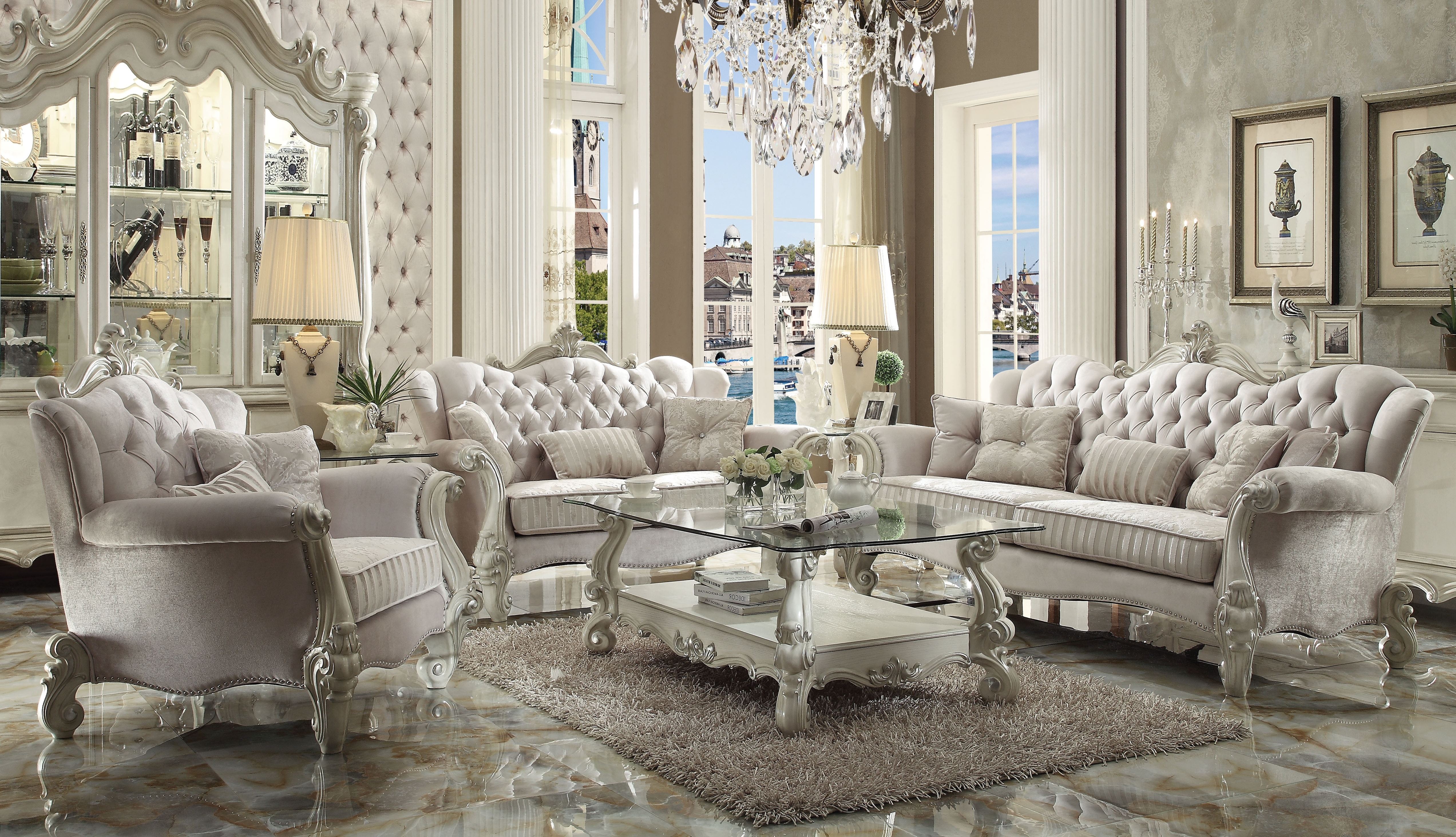 Well Liked Mississauga Sectional Sofas Throughout Classic Sofa Set (View 15 of 15)