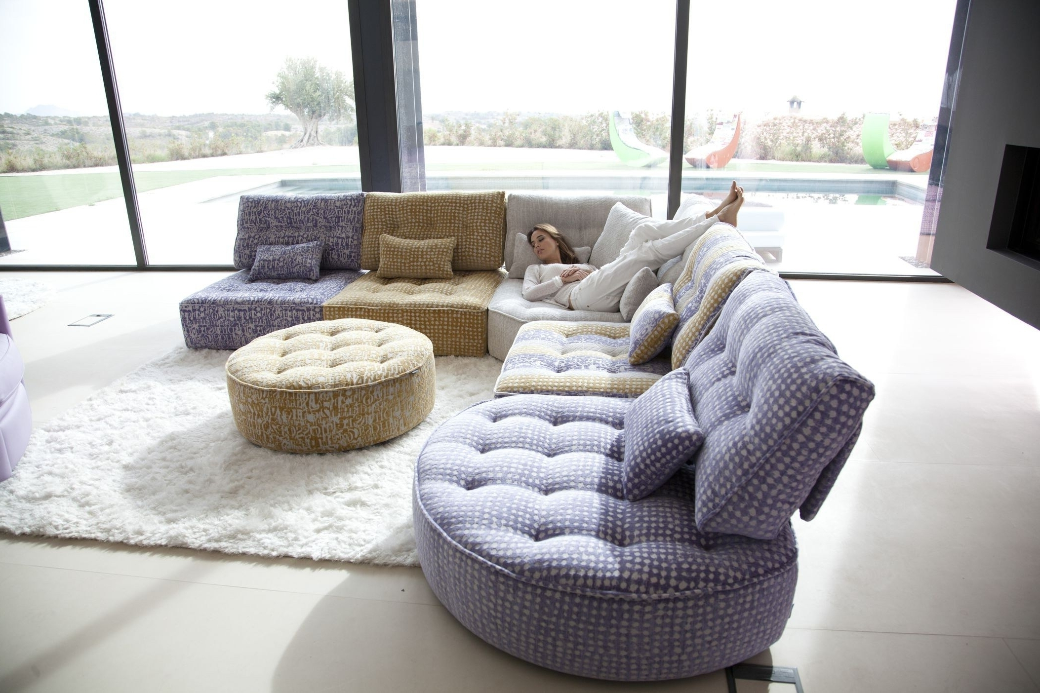Well Liked Modular Sectional Sofas With Modern Modular Sectional Sofas Upholstered Furniture Protection (View 14 of 15)