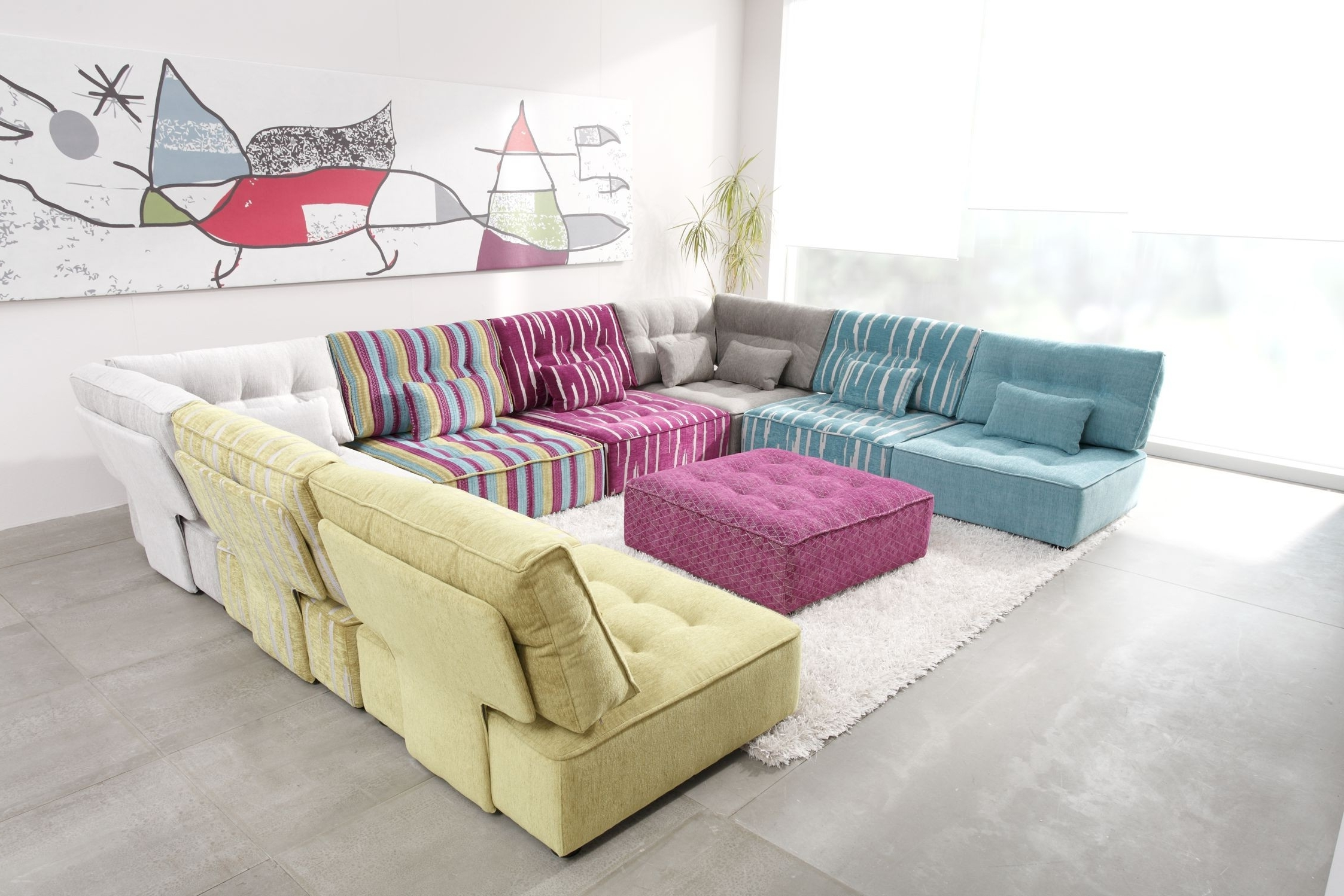 Well Liked Modular Sectional Sofas With Regard To Arianne Modern Modular Sectional Sofa (View 15 of 15)