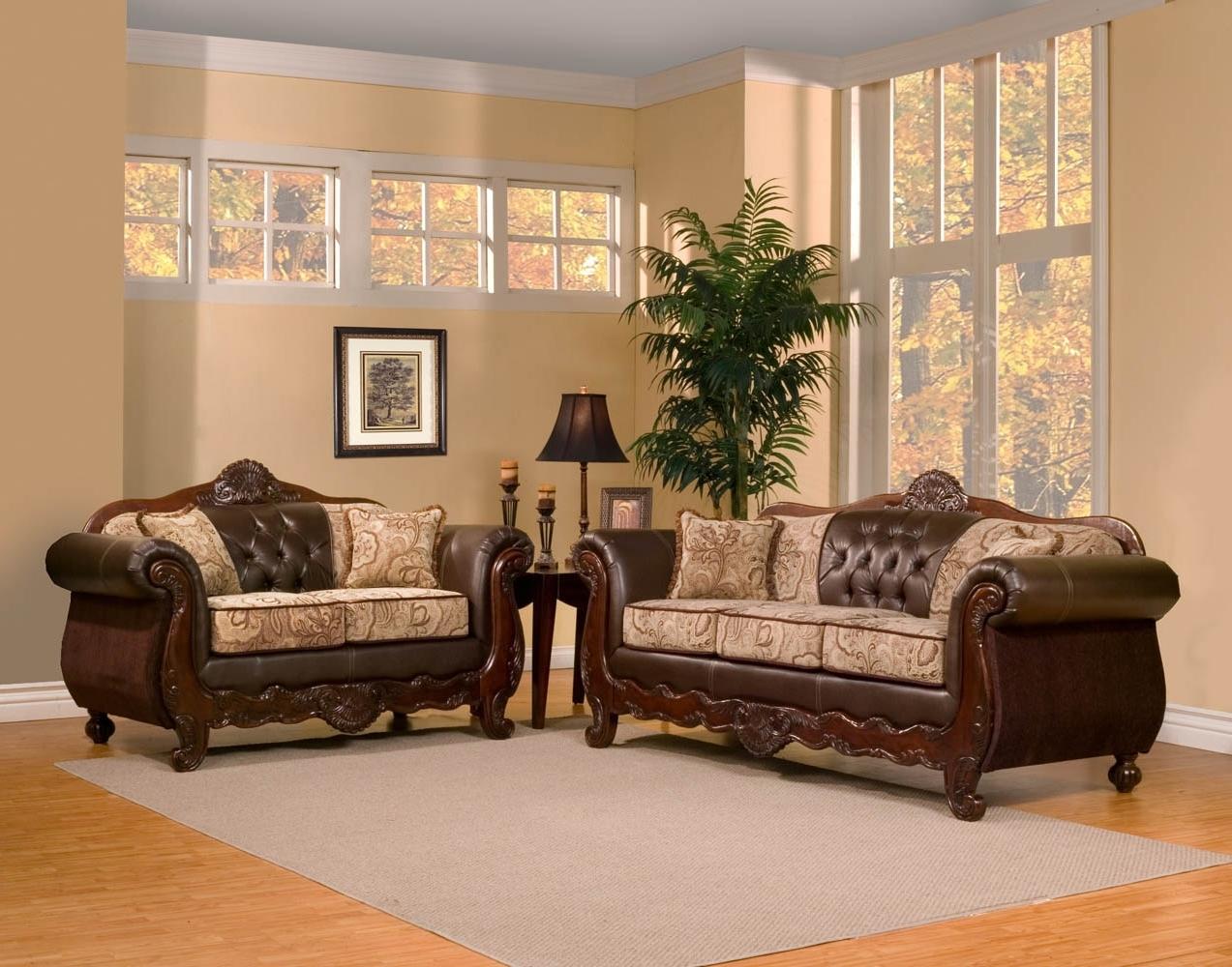 Well-liked Piece Traditional Elegant Sofa Set regarding Elegant Sofas And Chairs