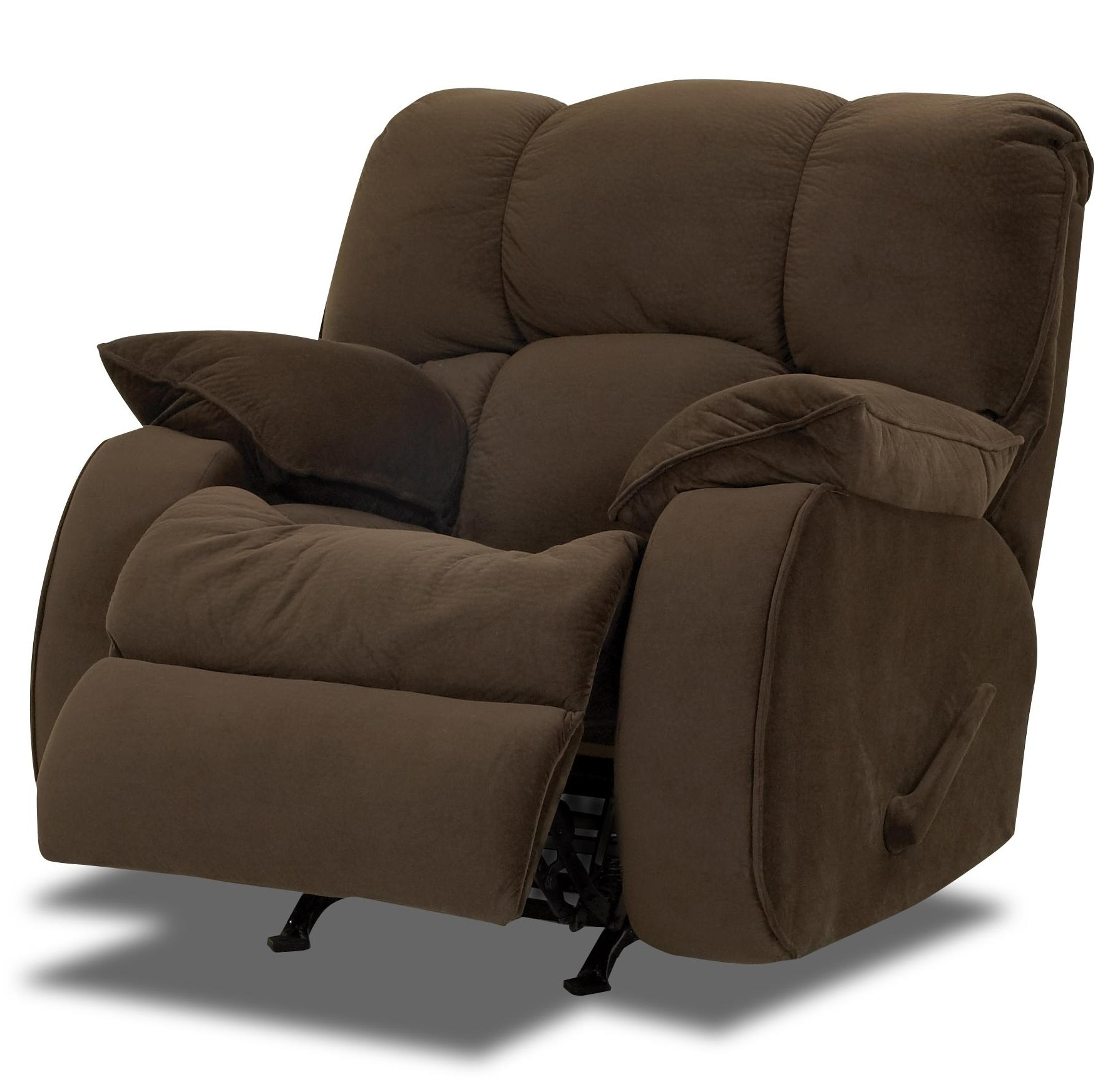 Well-liked Rocking Sofa Chairs inside Chairs : Lane Leather Recliner Comfortable Recliner Chair