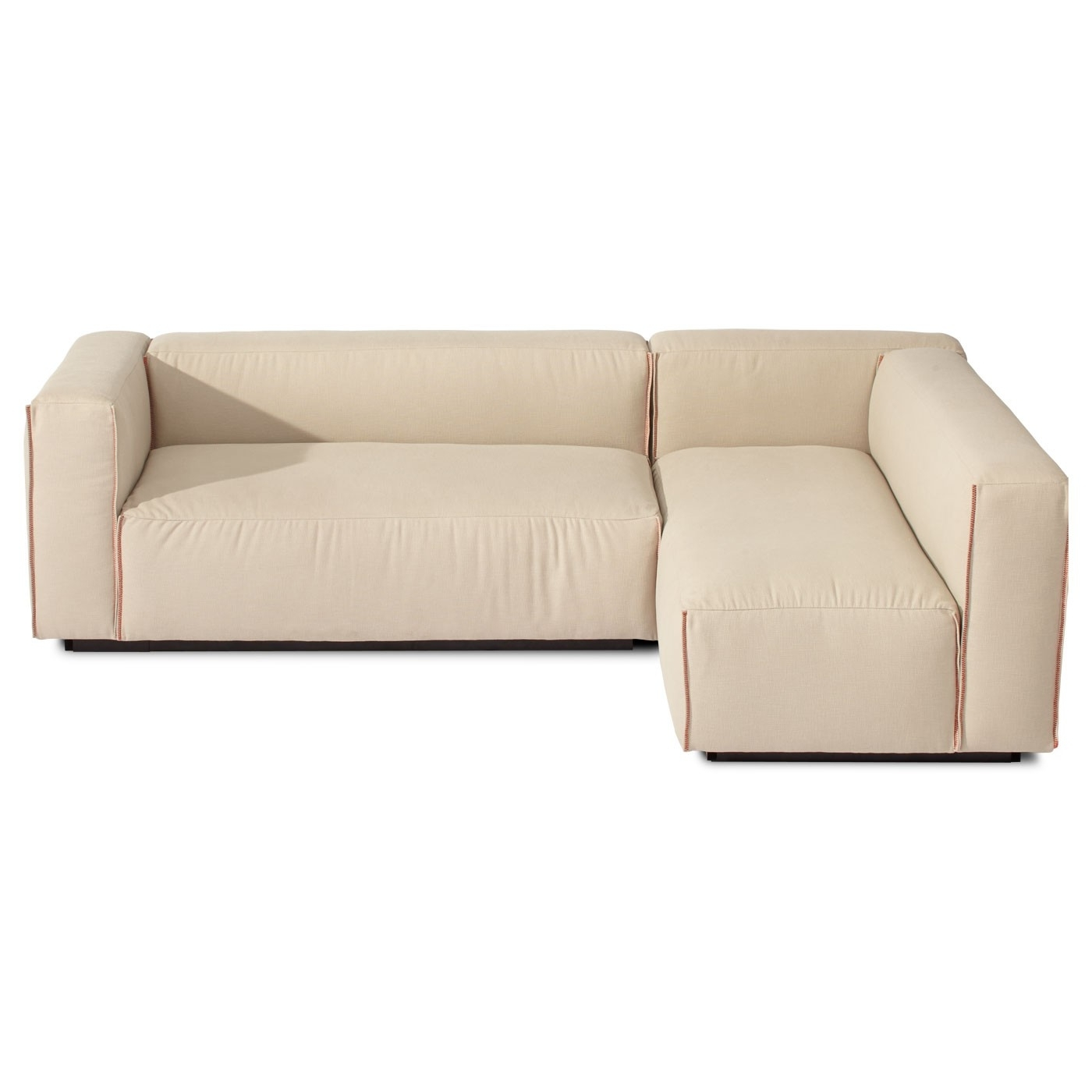 Well Liked Sectional Sofa Design: Elegant Small Modern Sectional Sofa Inside Armless Sectional Sofas (View 4 of 15)