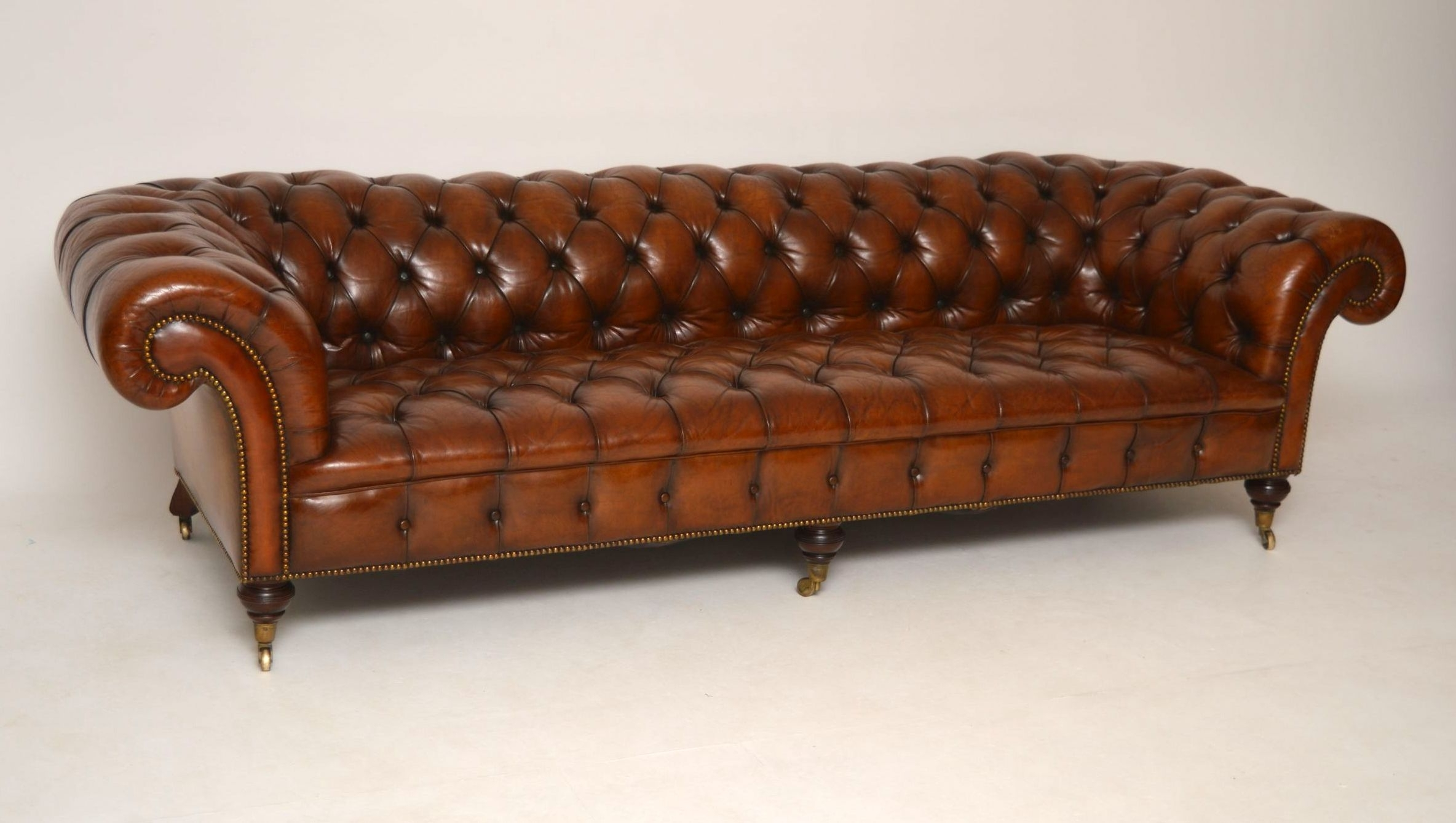 Well Liked Sofa : Victorian Sofa Antique Table Styles Value Settee Pertaining To Victorian Leather Sofas (View 4 of 15)