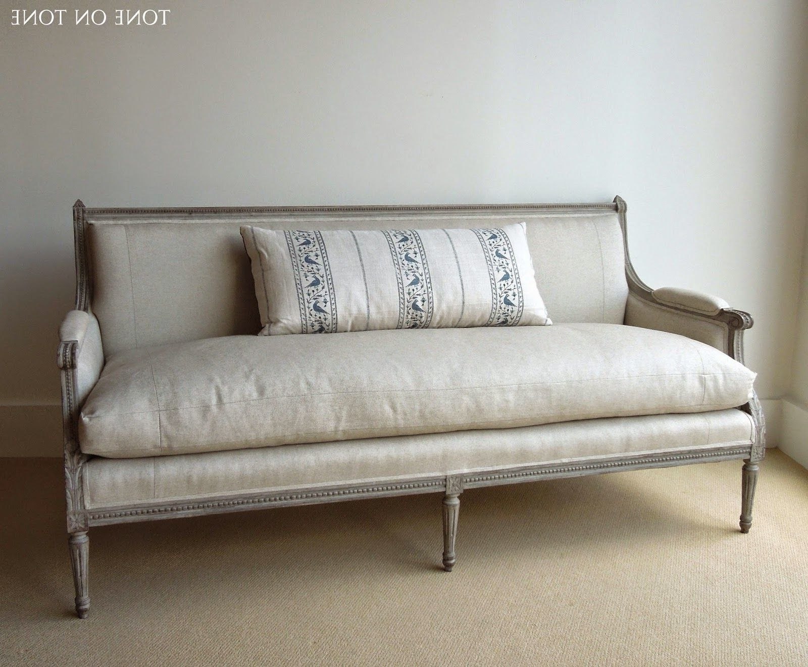 Well Liked Sofa : West Elm Blake Down Filled Sofa Reviews Down Filled Sofa In Down Filled Sofas (View 13 of 15)