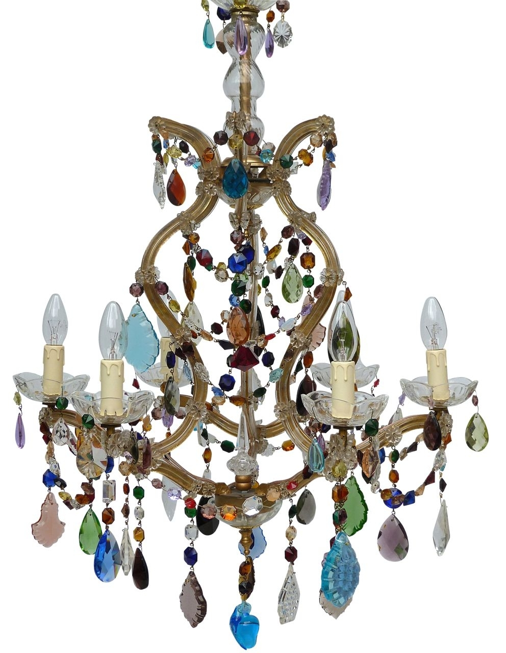 Well Liked The Vintage Chandelier Companymulti Coloured Archives – Page 3 Of 3 In Coloured Chandeliers (View 15 of 15)