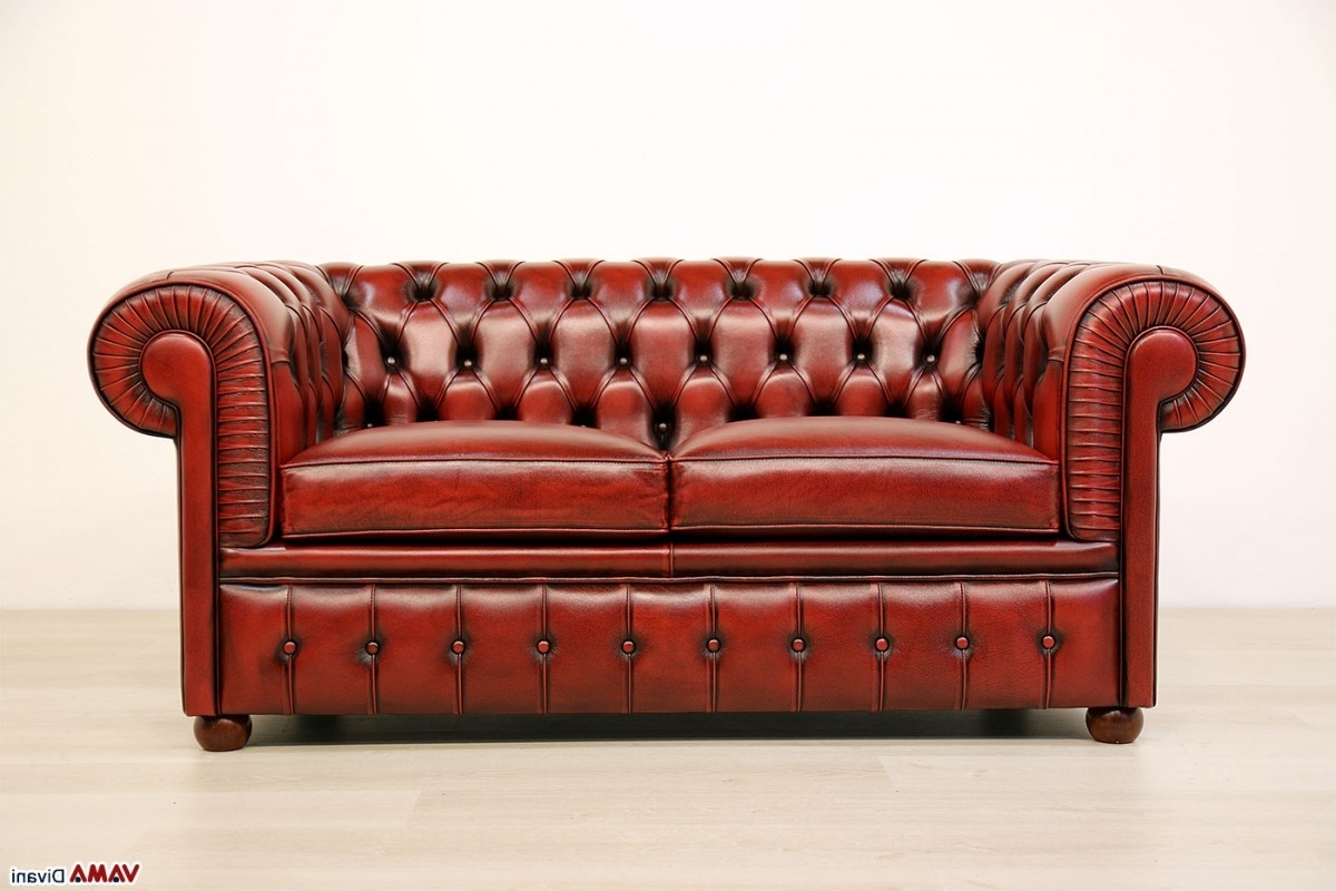 Well Liked Vintage Chesterfield Sofas Pertaining To Vintage Leather Chesterfield Sofa – Home Design Ideas And Pictures (View 12 of 15)