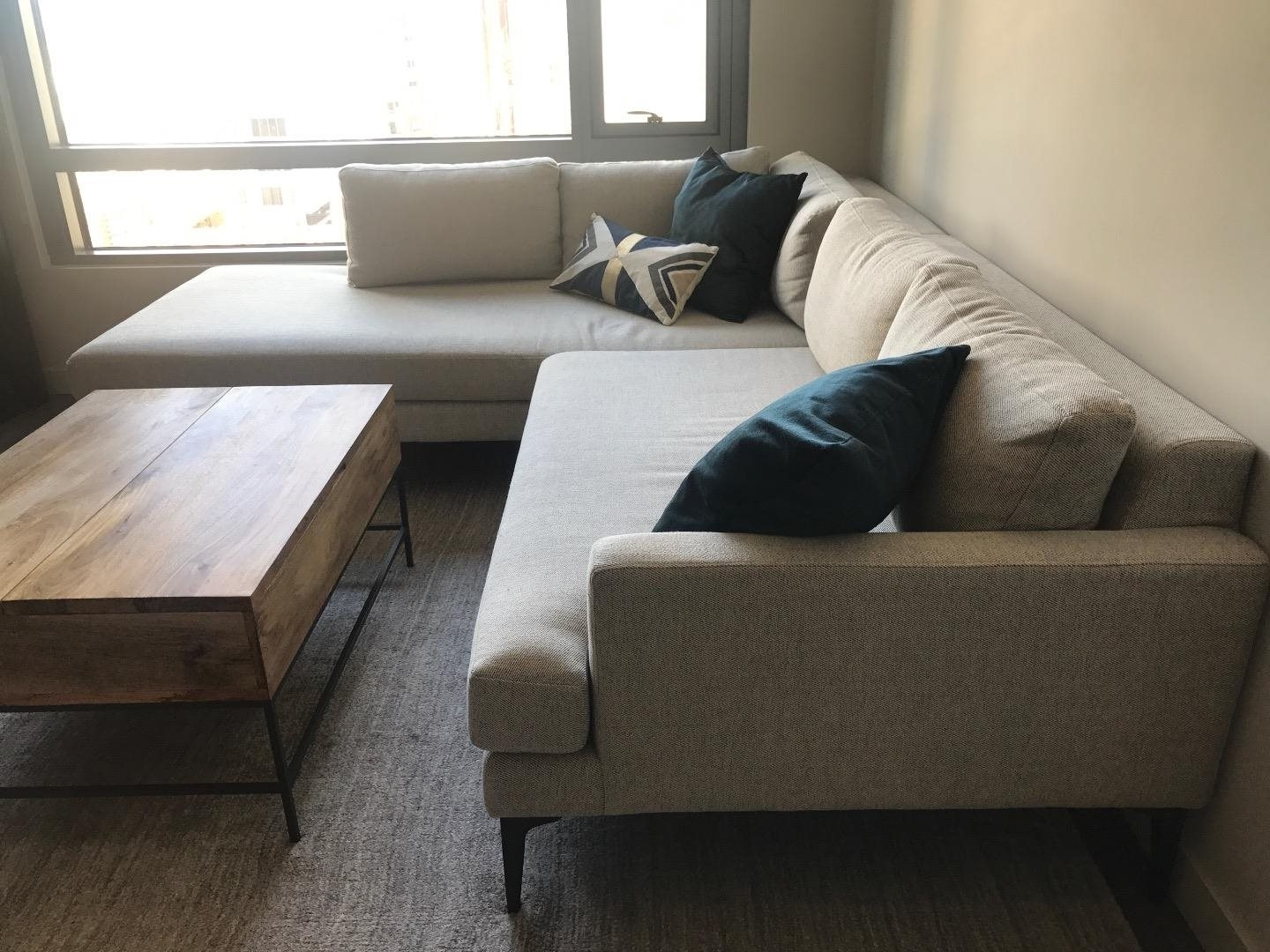 West Elm Andes Terminal Chaise Sectional Couch: For Sale In San Pertaining To Favorite West Elm Chaises (View 11 of 15)