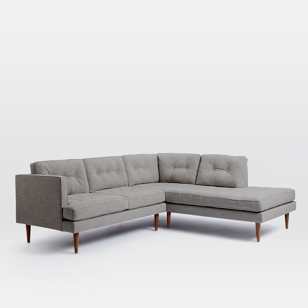 West Elm – Peggy Mid Century Terminal Chaise Sectional – $2,899 Regarding Most Current West Elm Chaises (View 10 of 15)