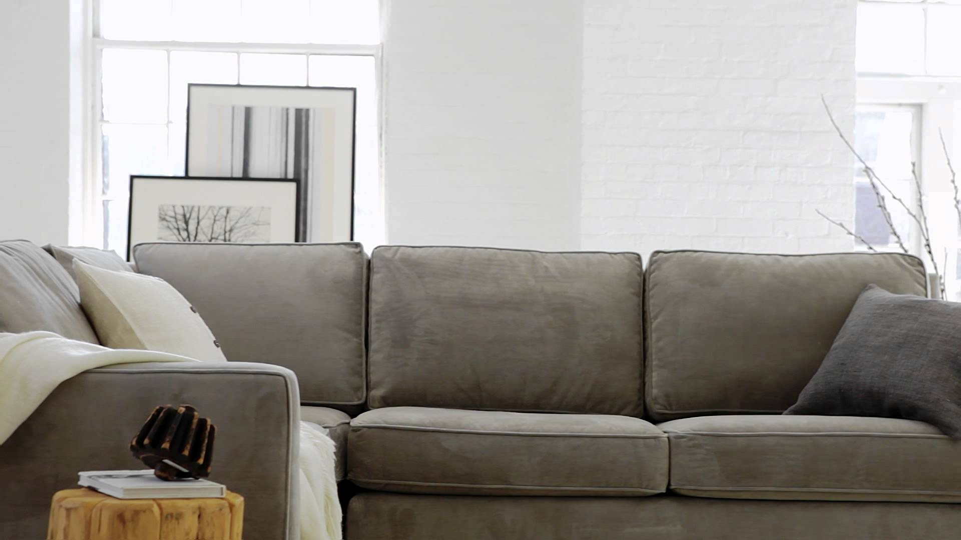 West Elm Sectional Sofas Within Newest The Henry Collection: Classic, Contemporary Living Room Furniture (View 14 of 15)