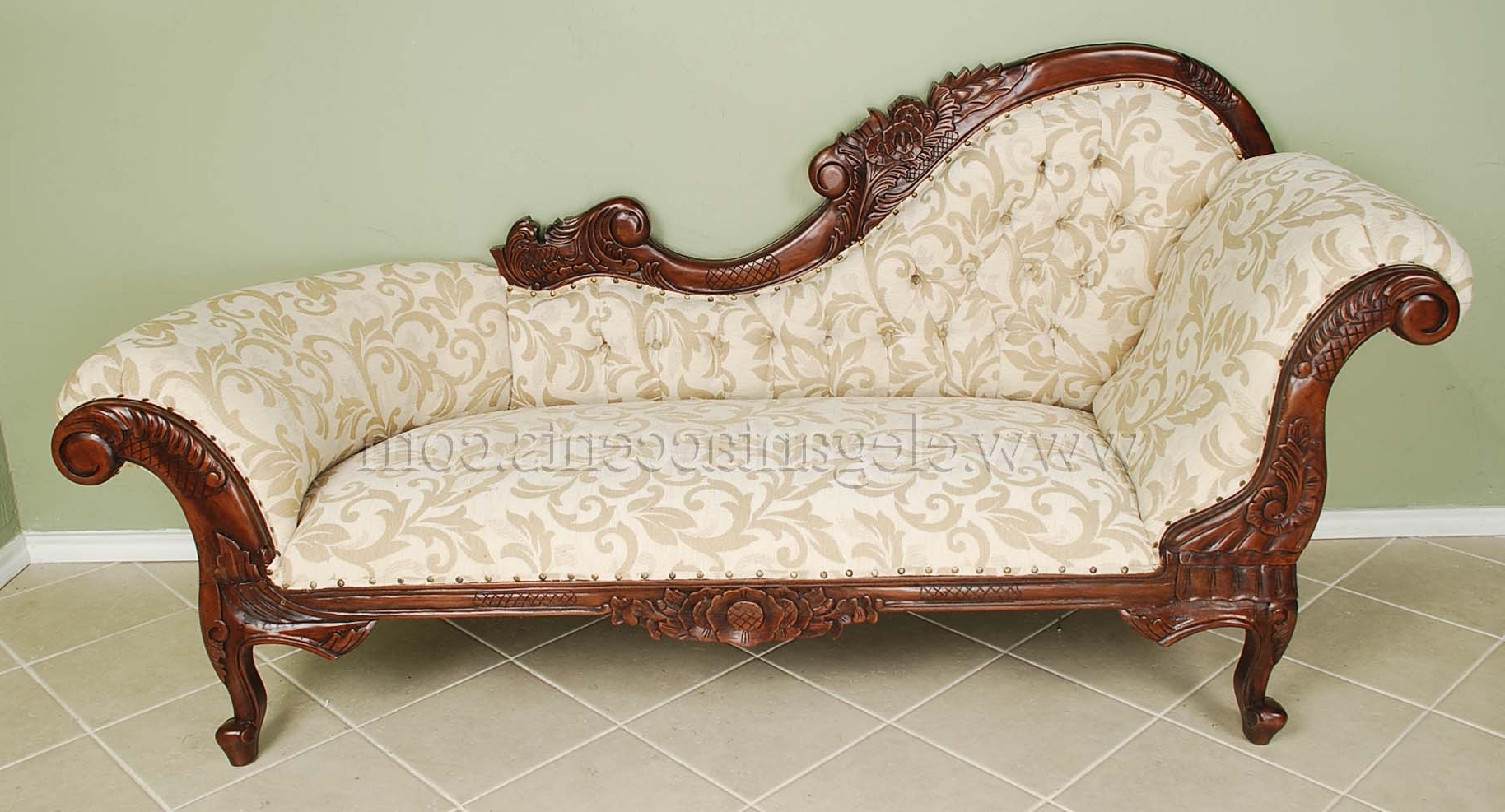White Chaises Regarding Favorite Products > Chaises, Settees And Sofas (View 12 of 15)
