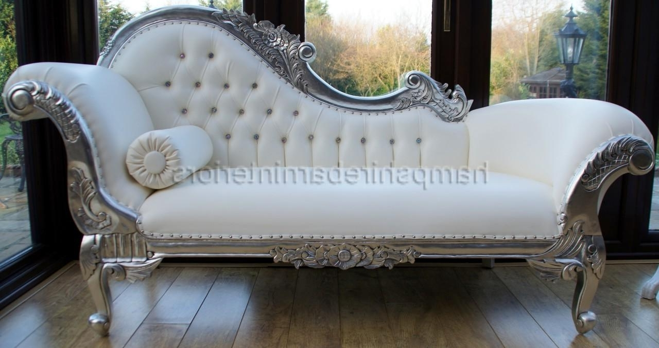 White Leather Chaise Lounges In Most Recently Released Wonderful Chaise Lounge Sofa Sectional Images Ideas – Surripui (View 8 of 15)