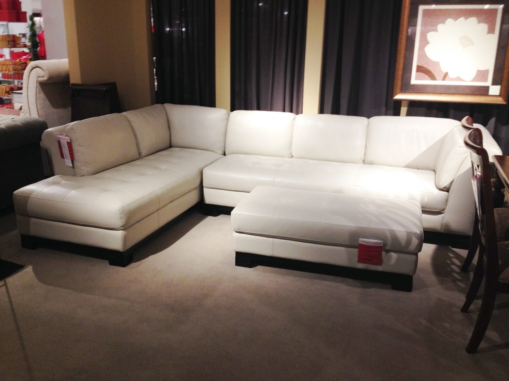 White Leather Sectional Sofa Macy's • Leather Sofa With Regard To Well Liked Macys Leather Sectional Sofas (View 2 of 15)
