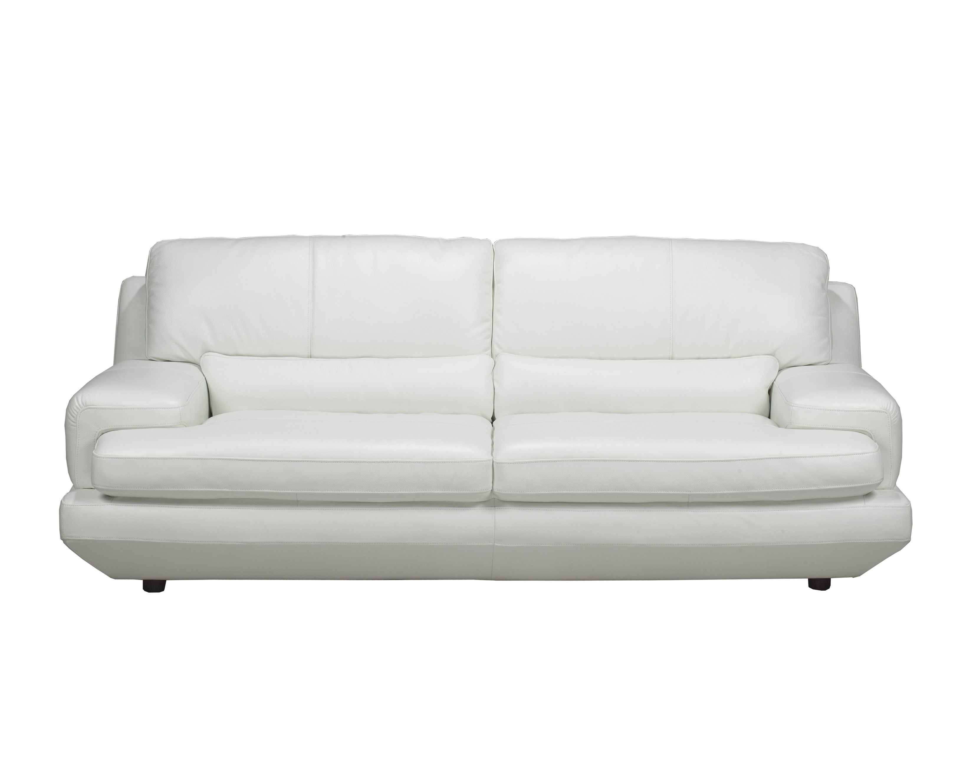 White Leather Sofas Inside Famous Decorating Black And White Leather Couch Pure Leather Sofa Set (View 10 of 15)