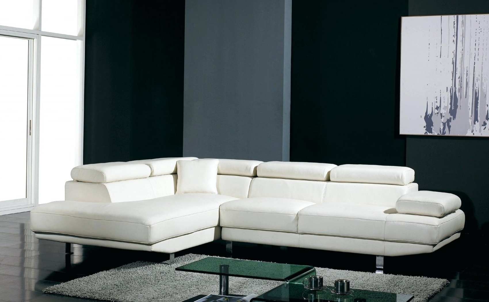 White Sectional Couches (View 7 of 15)