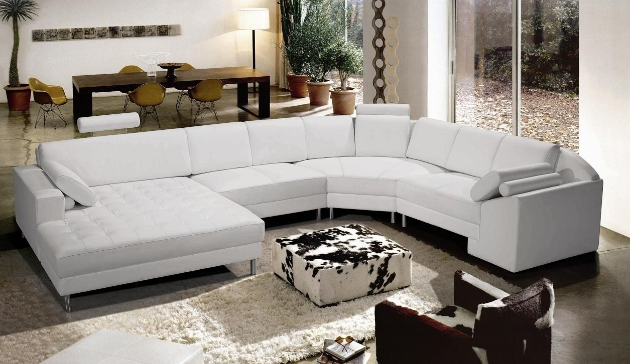 White Sectional Sofas Pertaining To Newest White Sectional Sofa The Best Choice For The Living Room — The (View 3 of 15)