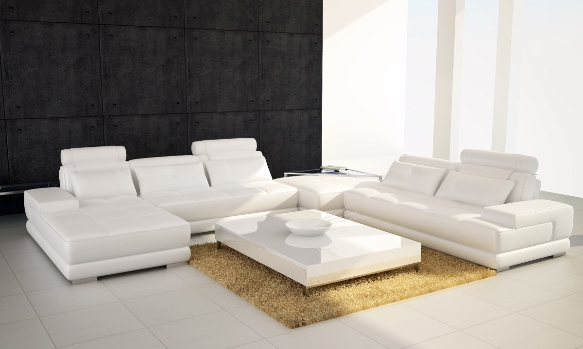 White Sectional Sofas With Chaise Pertaining To Most Popular White Sectional Sofa With Chaise Foter Pertaining To Ideas  (View 12 of 15)
