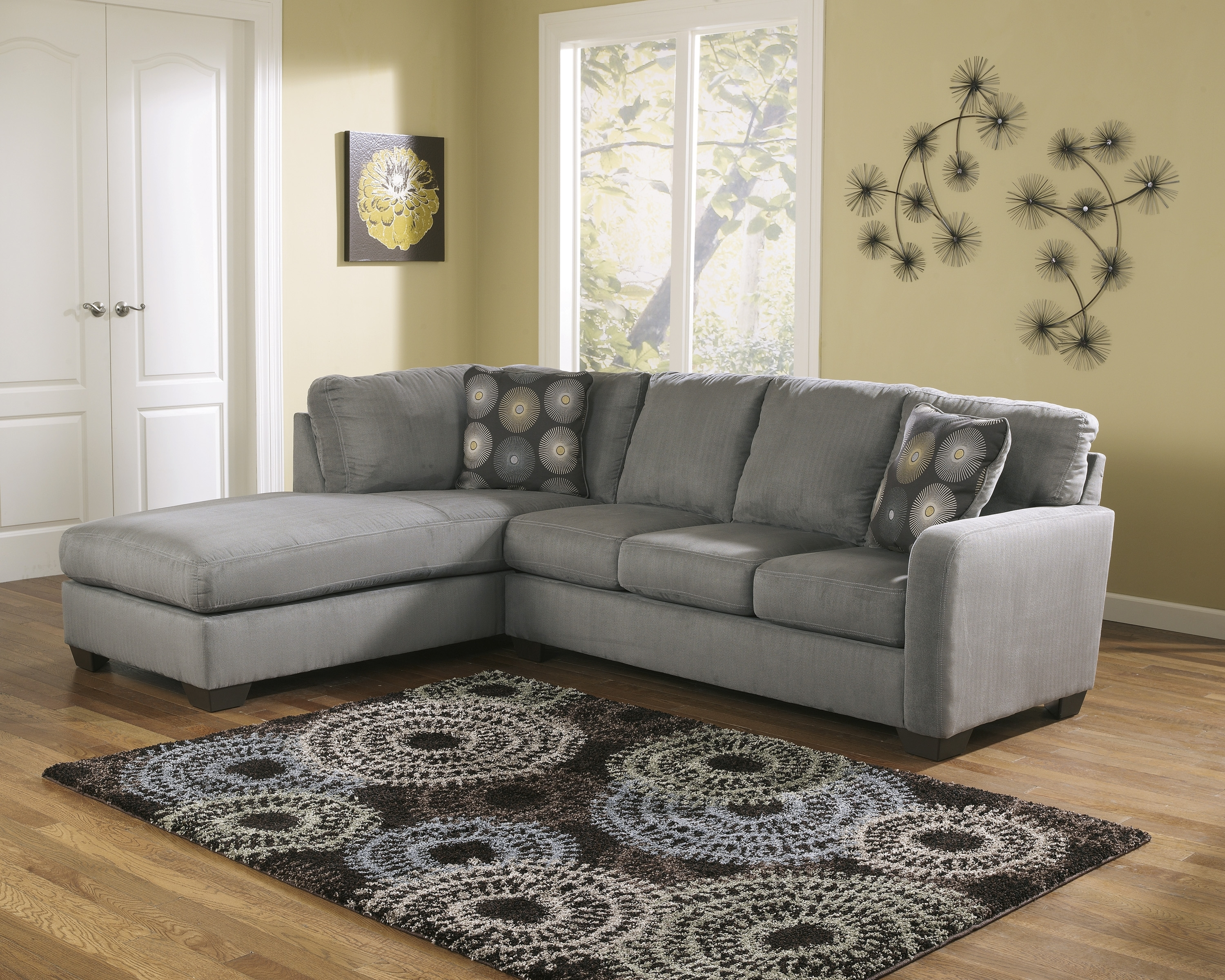 Wichita Ks Sectional Sofas With Most Current Cuisine: Rsfchaisesectionalashley Furniture In Wichita Ks Rsf (View 5 of 15)