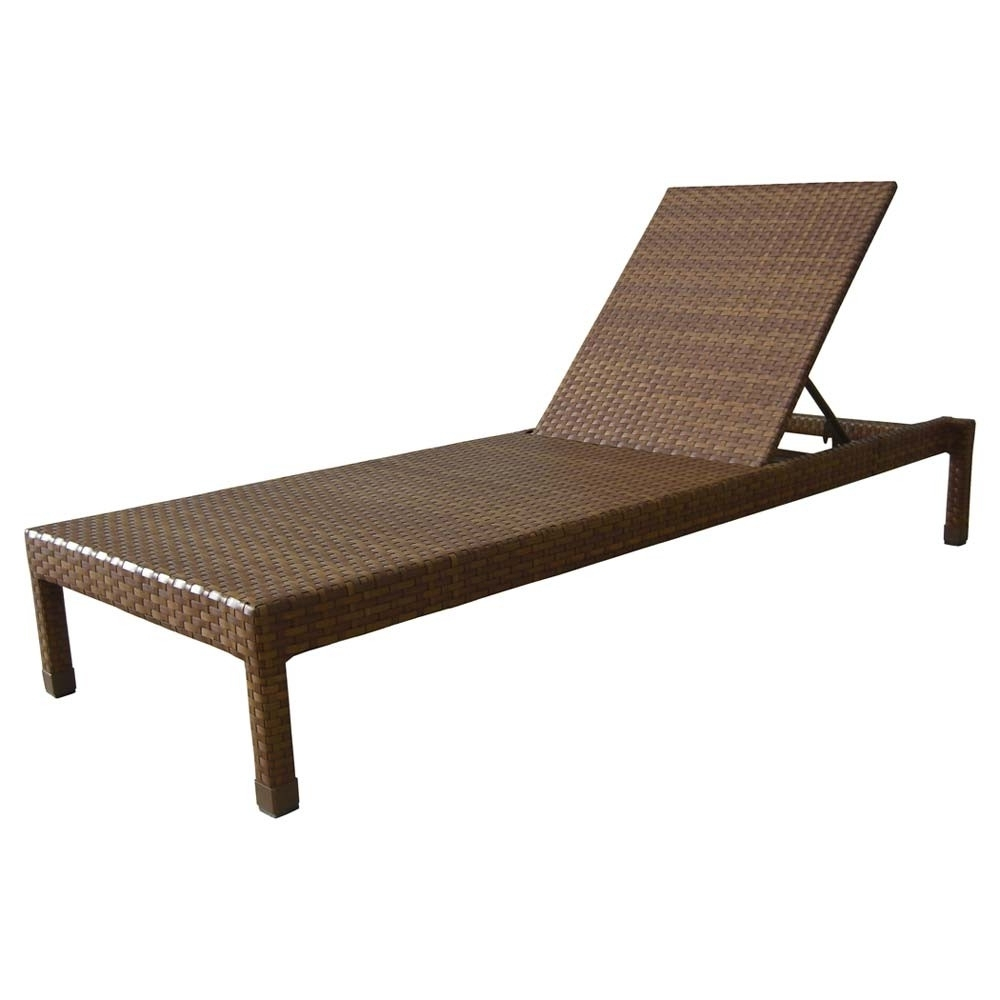 Wicker Chaise Lounges Regarding Well Known Panama Jack St Barths Wicker Chaise Lounge – Wicker (View 15 of 15)