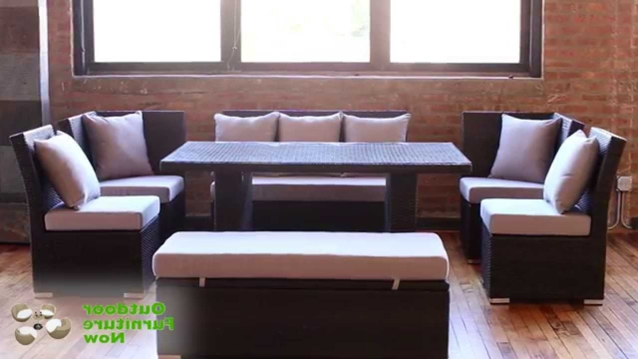 Wicker Patio Regarding Jamaica Sectional Sofas (View 2 of 15)
