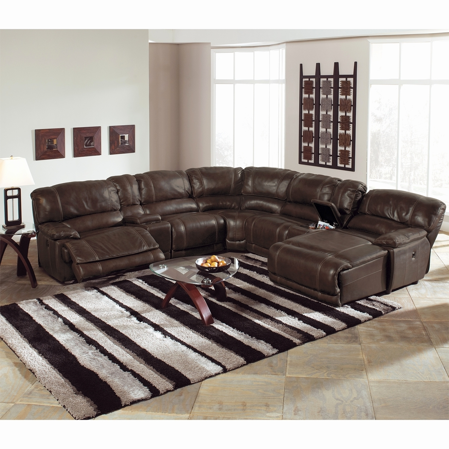 Widely Used 6 Piece Leather Sectional Sofas For Elegant Power Reclining Sectional Sofa 2018 – Couches And Sofas Ideas (View 15 of 15)
