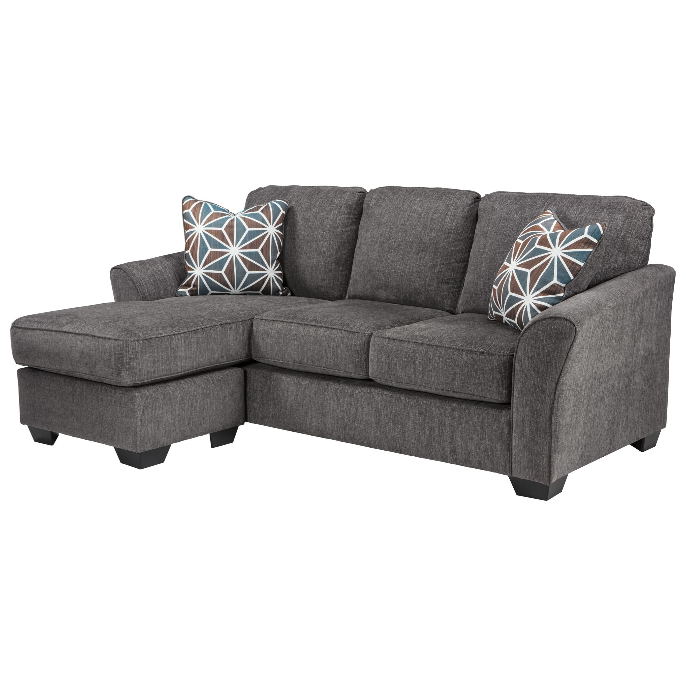 Widely Used Benchcraft Brise Casual Contemporary Queen Sofa Chaise Sleeper Throughout Chaise Sleepers (View 15 of 15)
