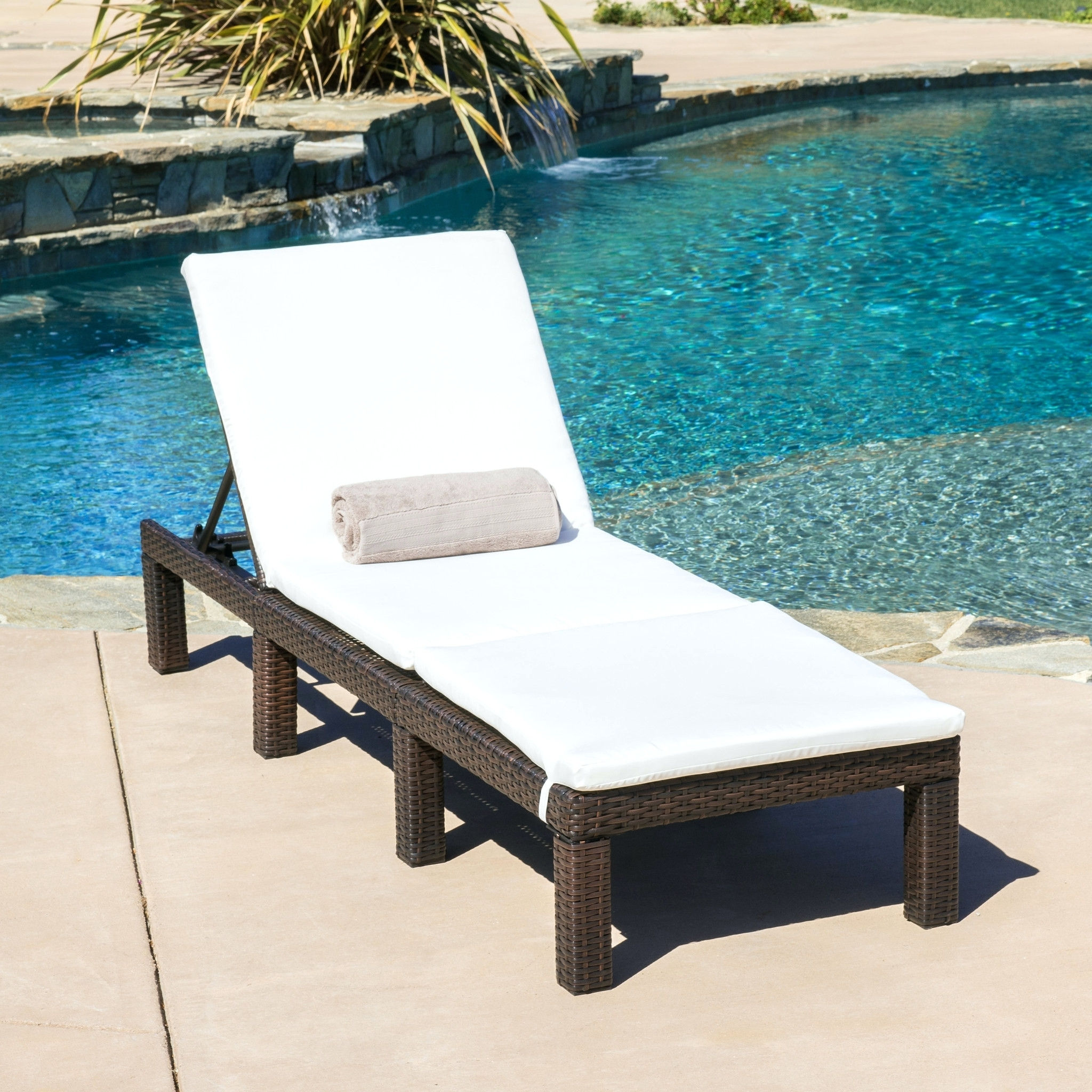 Featured Photo of Boca Chaise Lounge Outdoor Chairs With Pillows