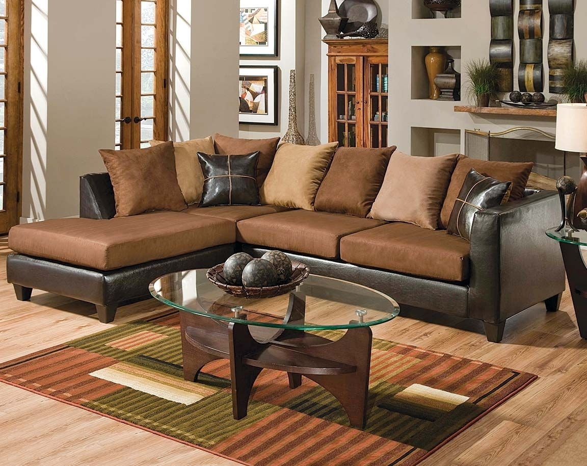 Widely Used Brown Couch With Chaise (View 9 of 15)