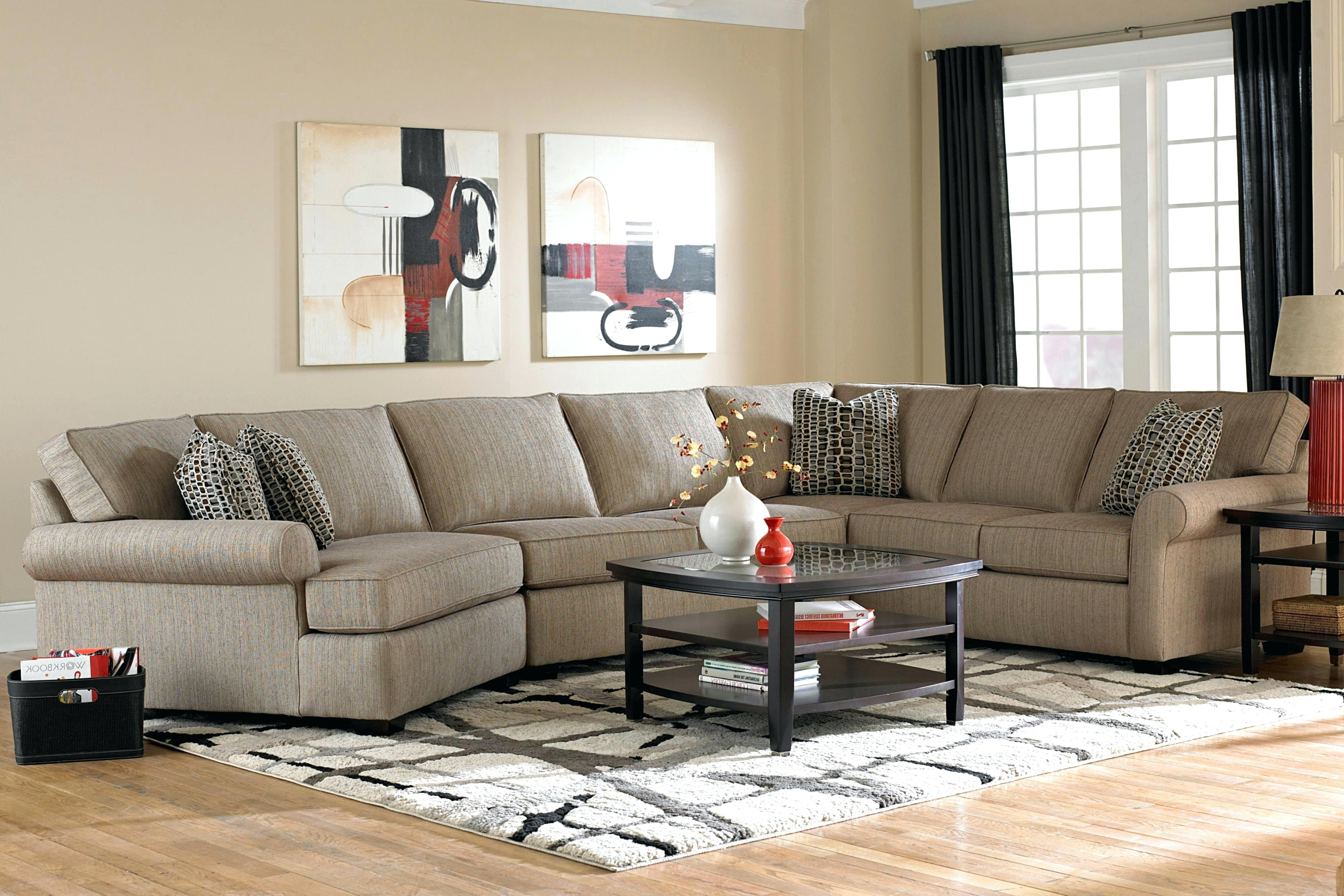 Widely Used Broyhill Furniture Sale 3 Sofa With All Around Wood Base – 4Parkar Pertaining To Broyhill Sectional Sofas (View 8 of 15)