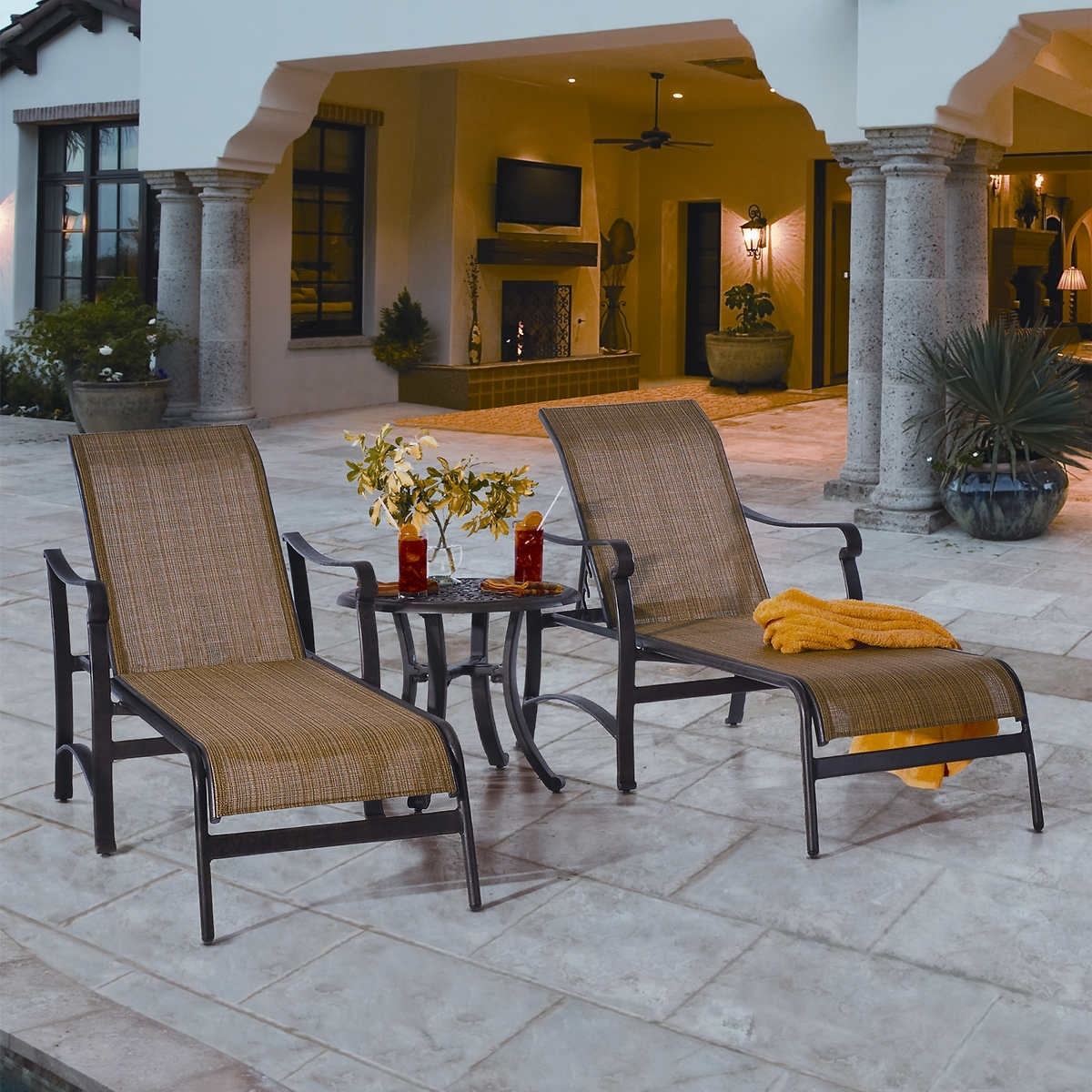 Widely Used Chaise Lounge Chairs At Costco Regarding Home Design : Dazzling Costco Pool Chairs Chaise Lounges Lounge (View 4 of 15)