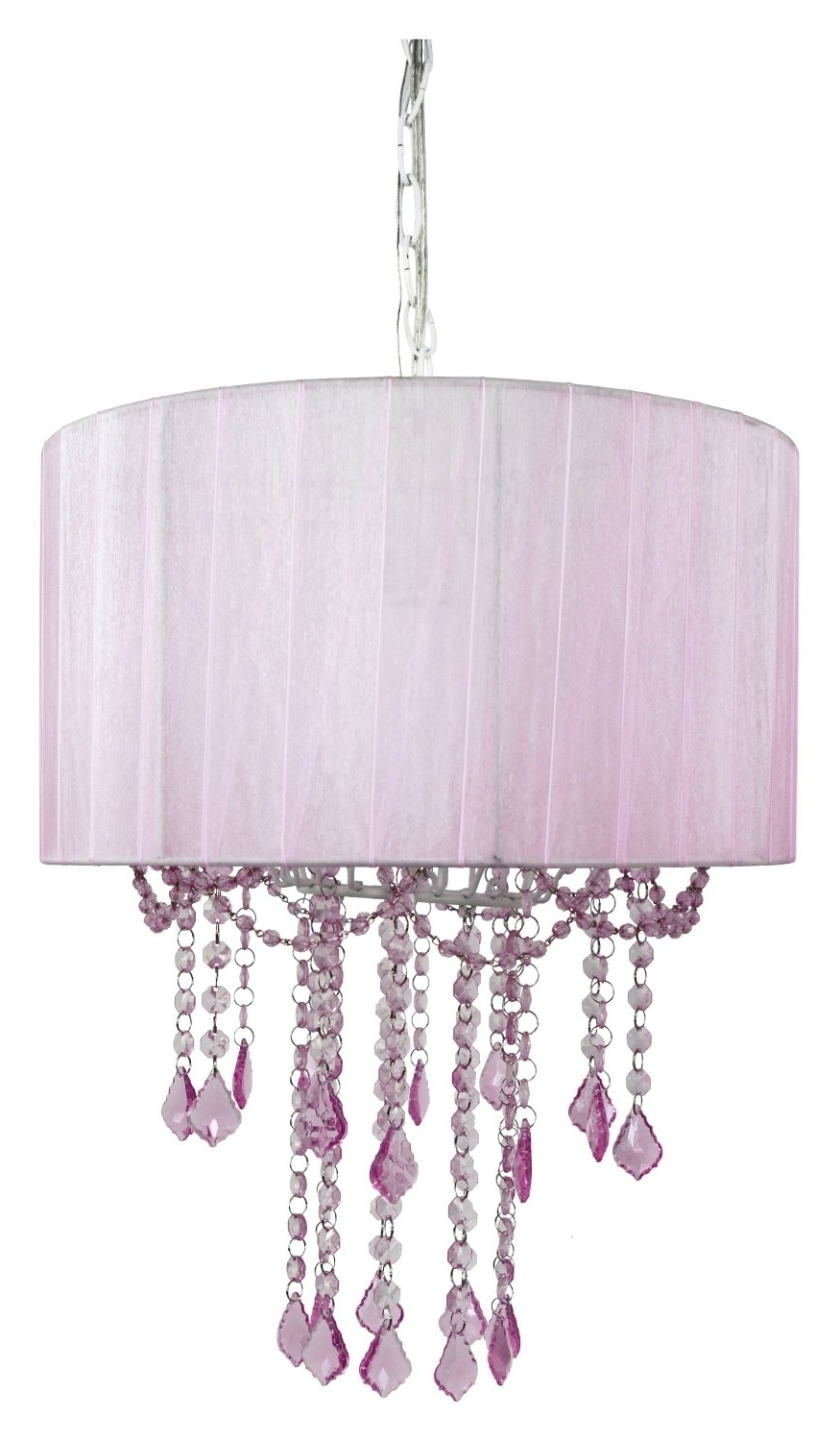 Widely Used Chandelier Light Shades With 24+ Pink Chandelier Light Designs, Decorating Ideas (View 15 of 15)