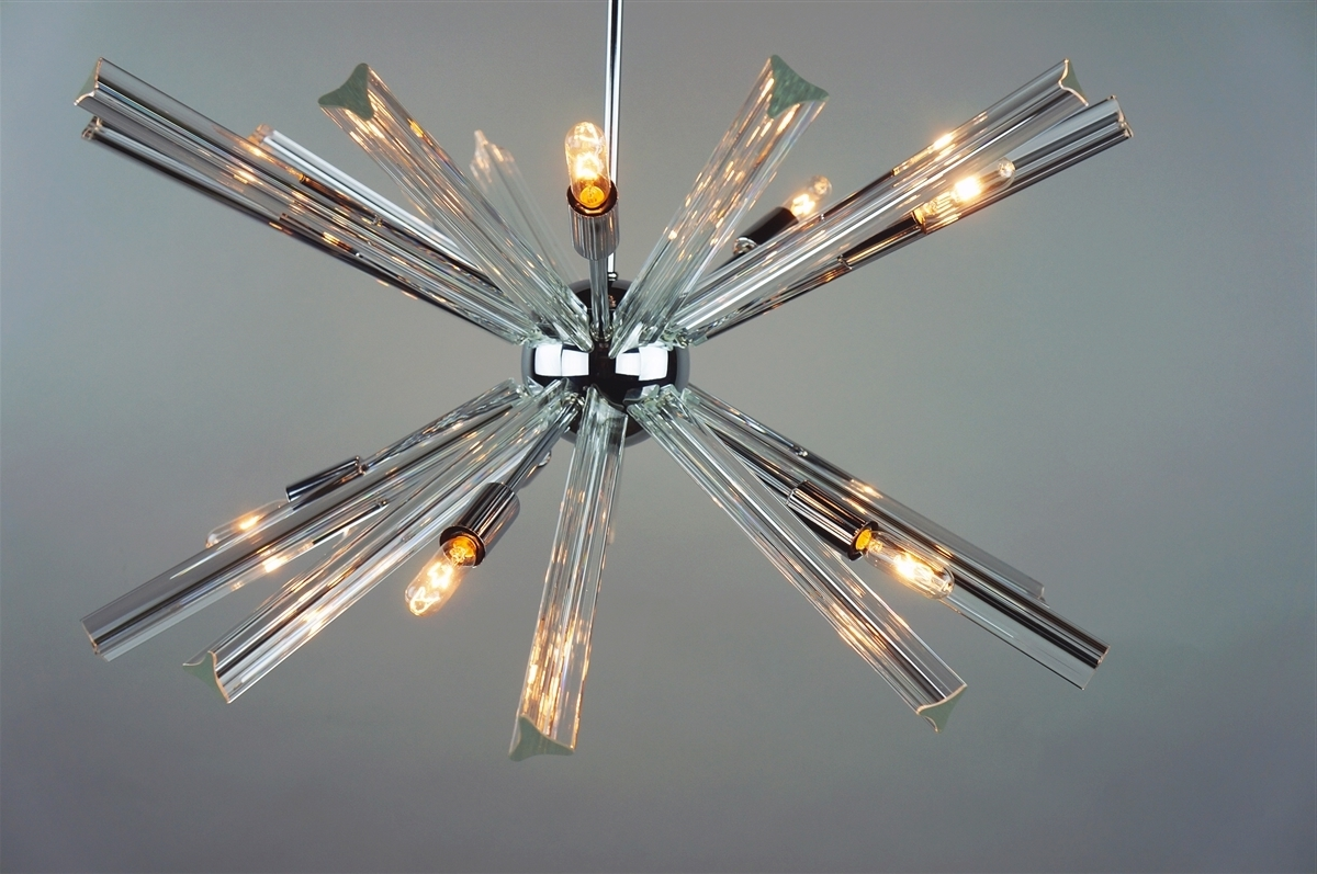 Widely Used Chrome Sputnik Chandeliers With Regard To Sputnik Chandelier Chrome 27'' In Diameter With 20 Crystal Prisms (View 15 of 15)