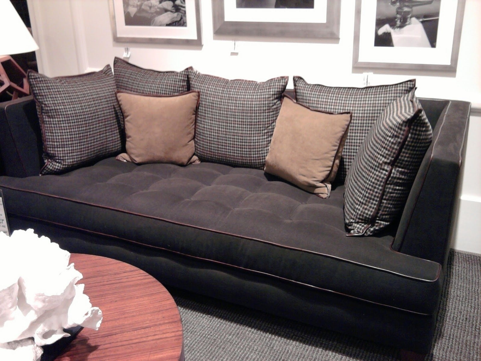 Widely Used Deep Seating Sectional Sofas For Extra Deep Couch Sectional Ideas — Cabinets, Beds, Sofas And (View 10 of 15)