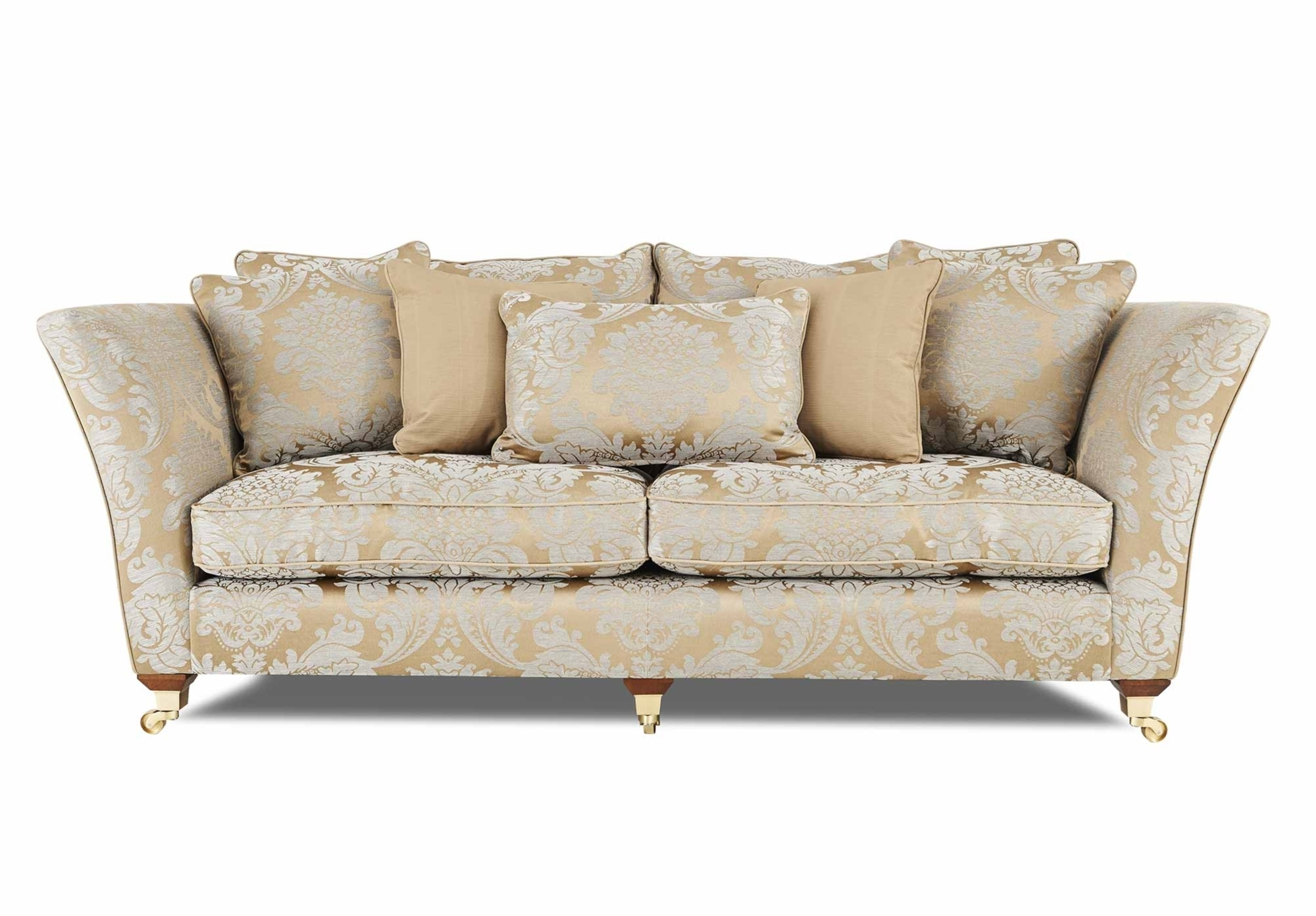 Widely Used Furniture : Contemporary Modern Tufted Sofa Delano 120 Tufted In Kitchener Sectional Sofas (View 14 of 15)