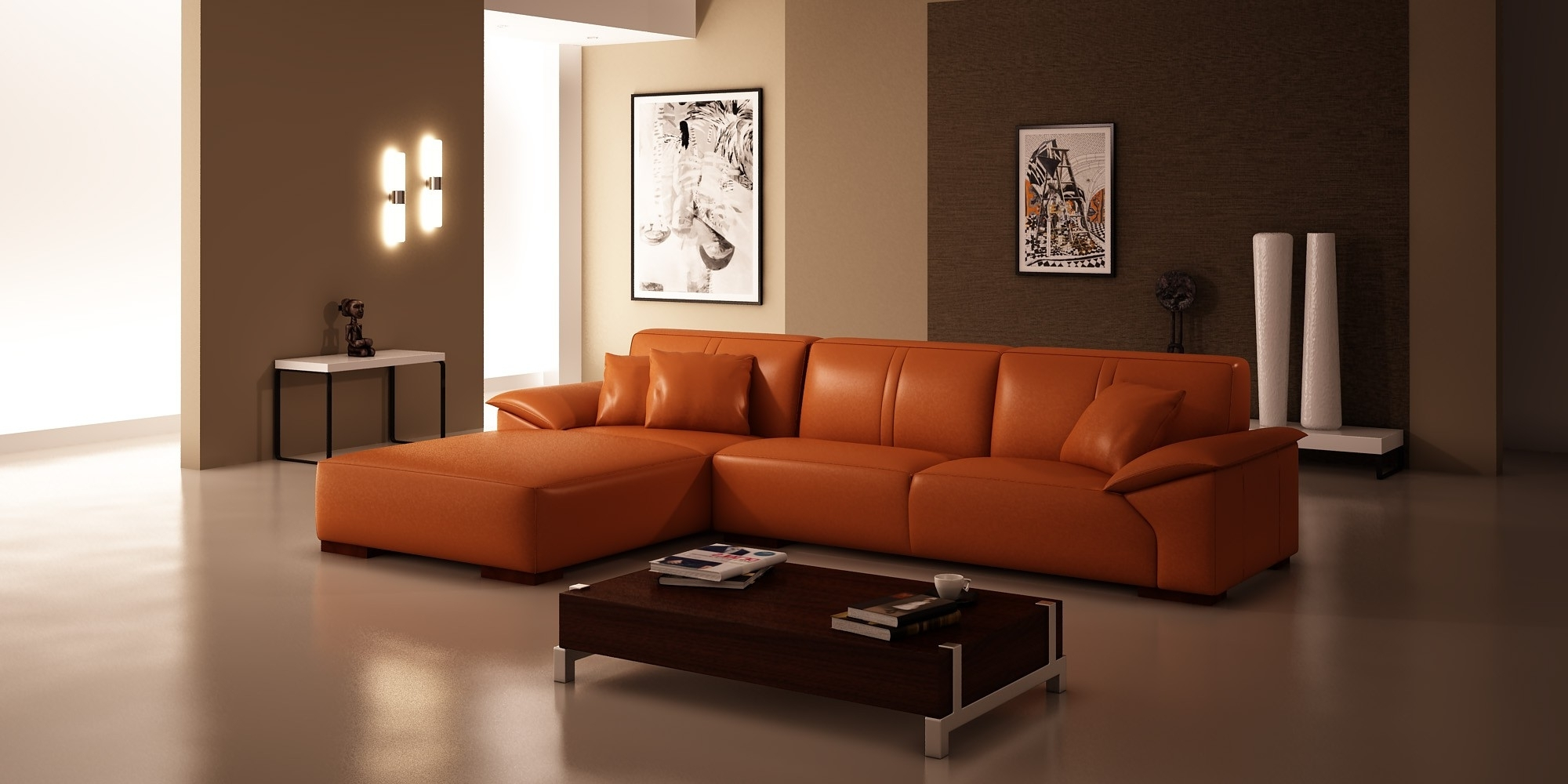 Widely Used Furniture: Impressive Living Room Decor Using Chic Sectional For Sectional Sofas At Amazon (View 15 of 15)