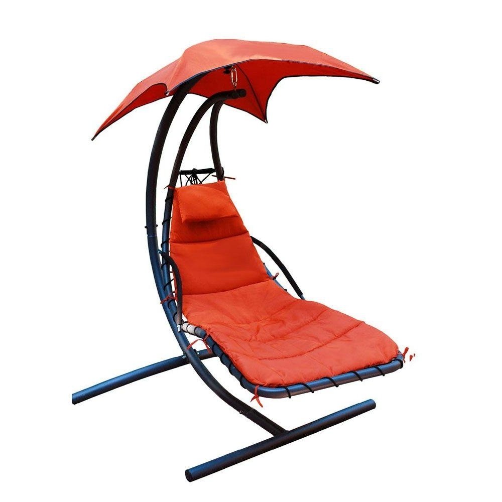 Widely Used Hanging Chaise Lounge Chairs With Regard To Algoma 78 In. L X 55 In. D X 78 In (View 15 of 15)