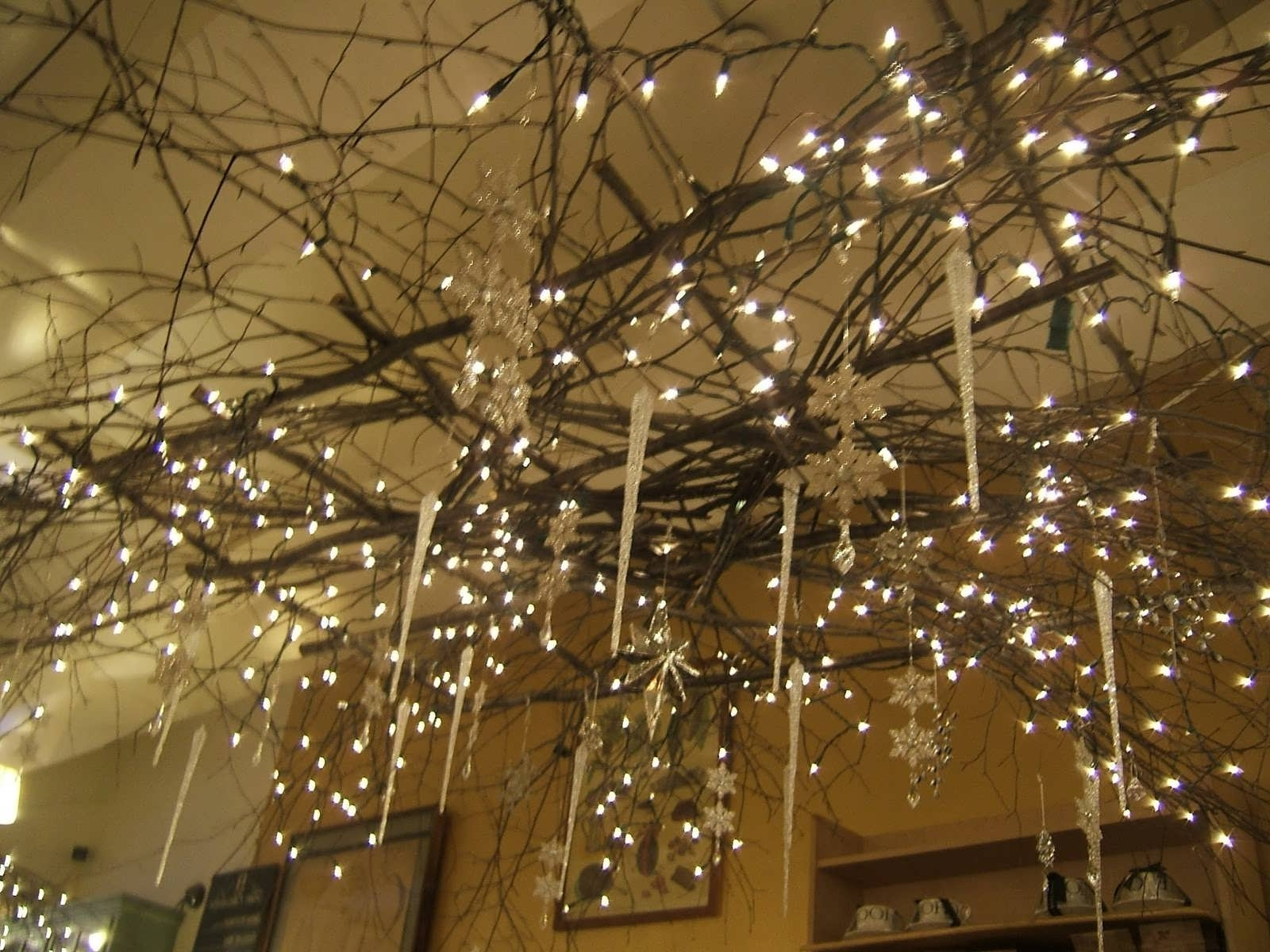 Widely Used Home Design : Decorative Tree Branch Chandelier Ceiling Fan Cheap Pertaining To Branch Chandeliers (View 13 of 15)