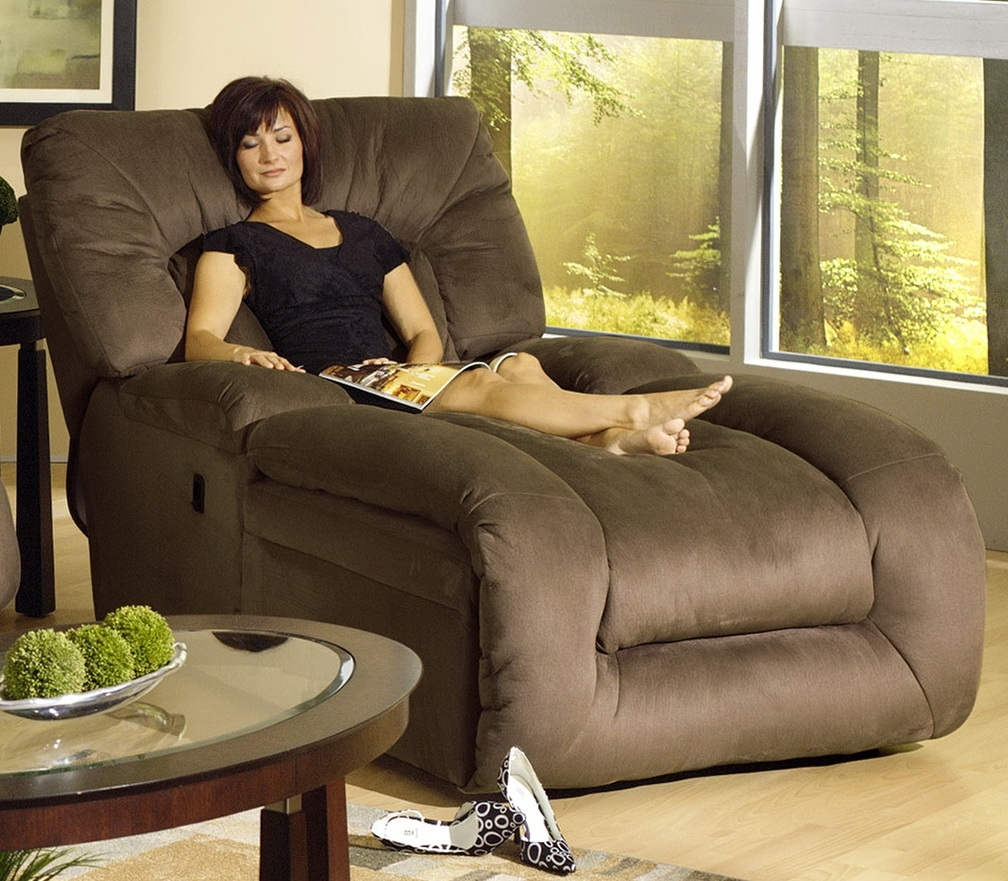 Widely Used Jackpot Reclining Chaises Pertaining To Catnapper Chaise Lounge Recliner (View 15 of 15)