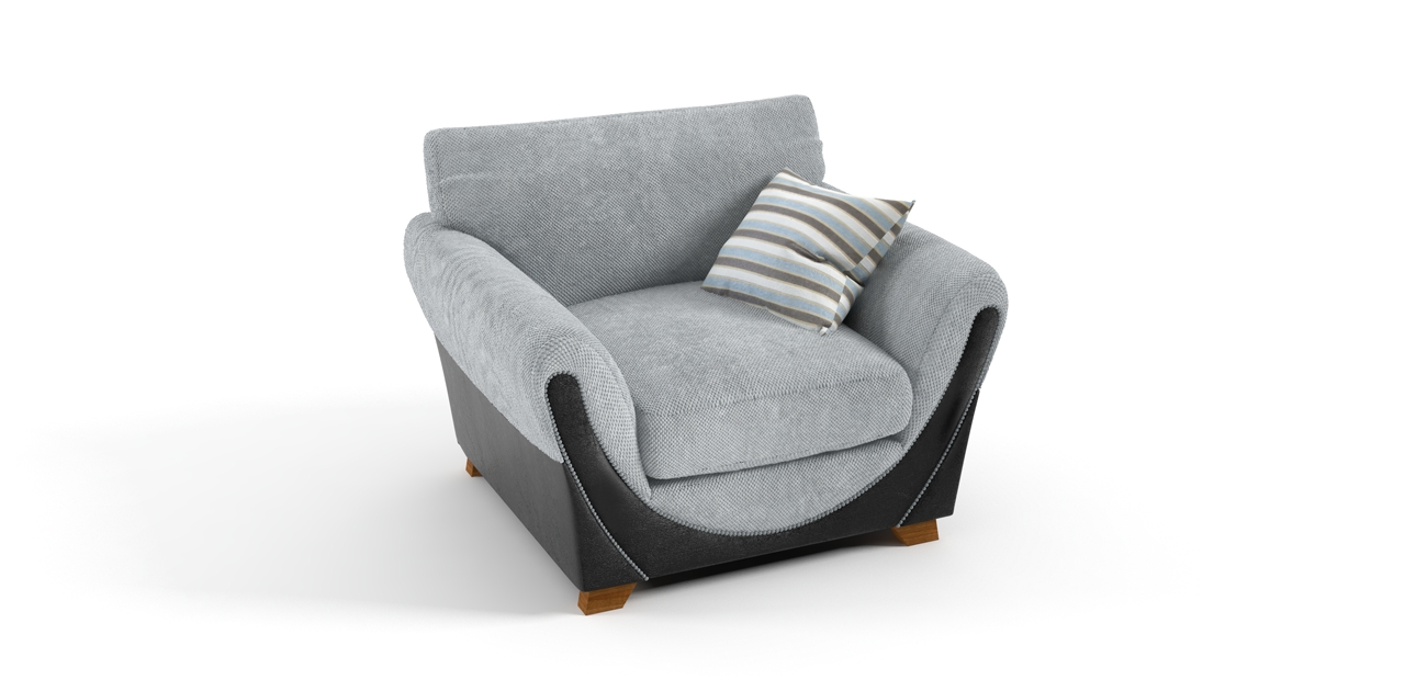 Widely Used Joker Chair Grey Black Sofa – Chairs Throughout Grey Sofa Chairs (View 5 of 15)